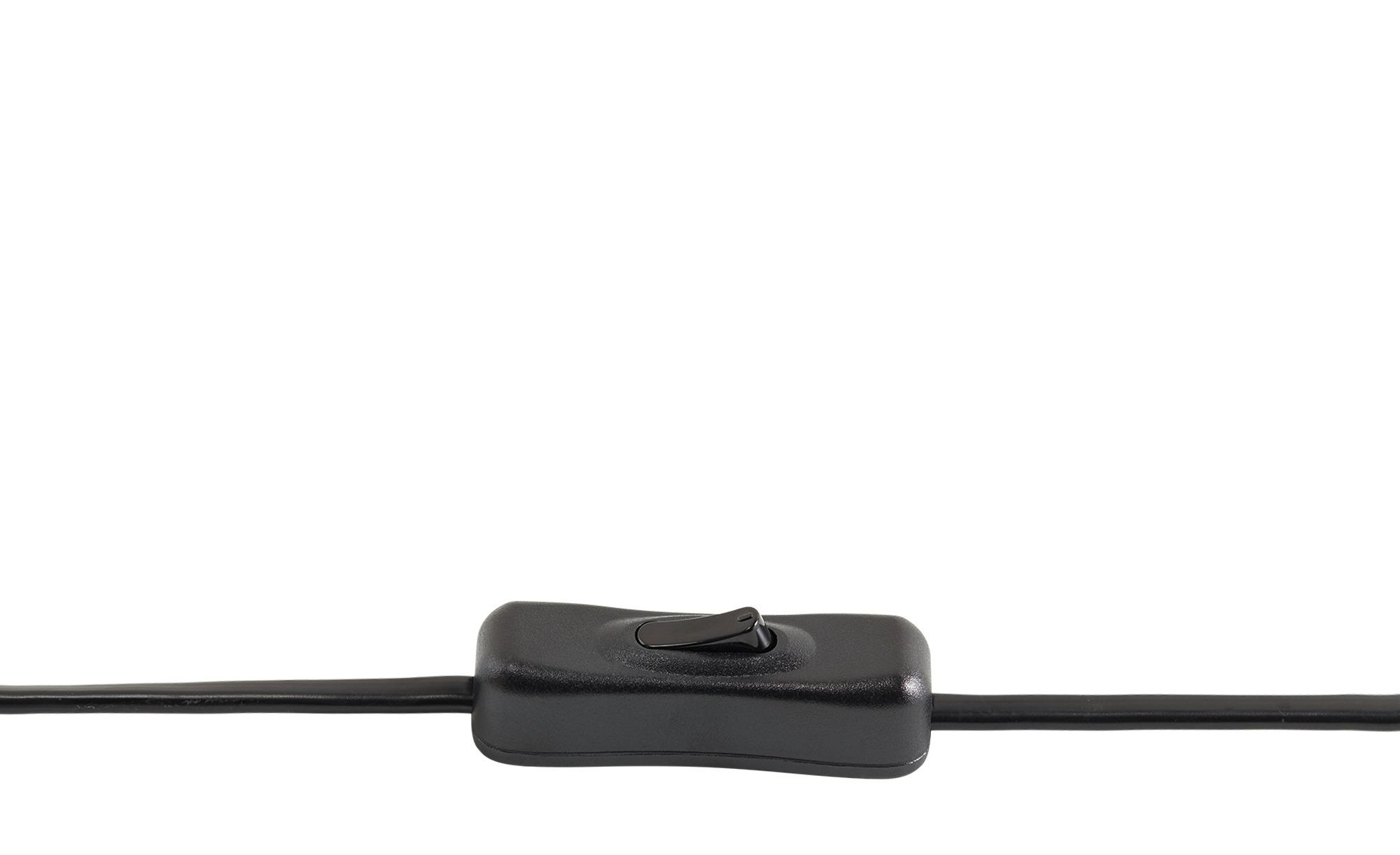 Tischleuchte, 1-flammig, Metall schwarz ¦ schwarz ¦ Maße (cm): H: 28 Ø: 23 Lampen & Leuchten > Innenleuchten > Tischlampen - Höffner