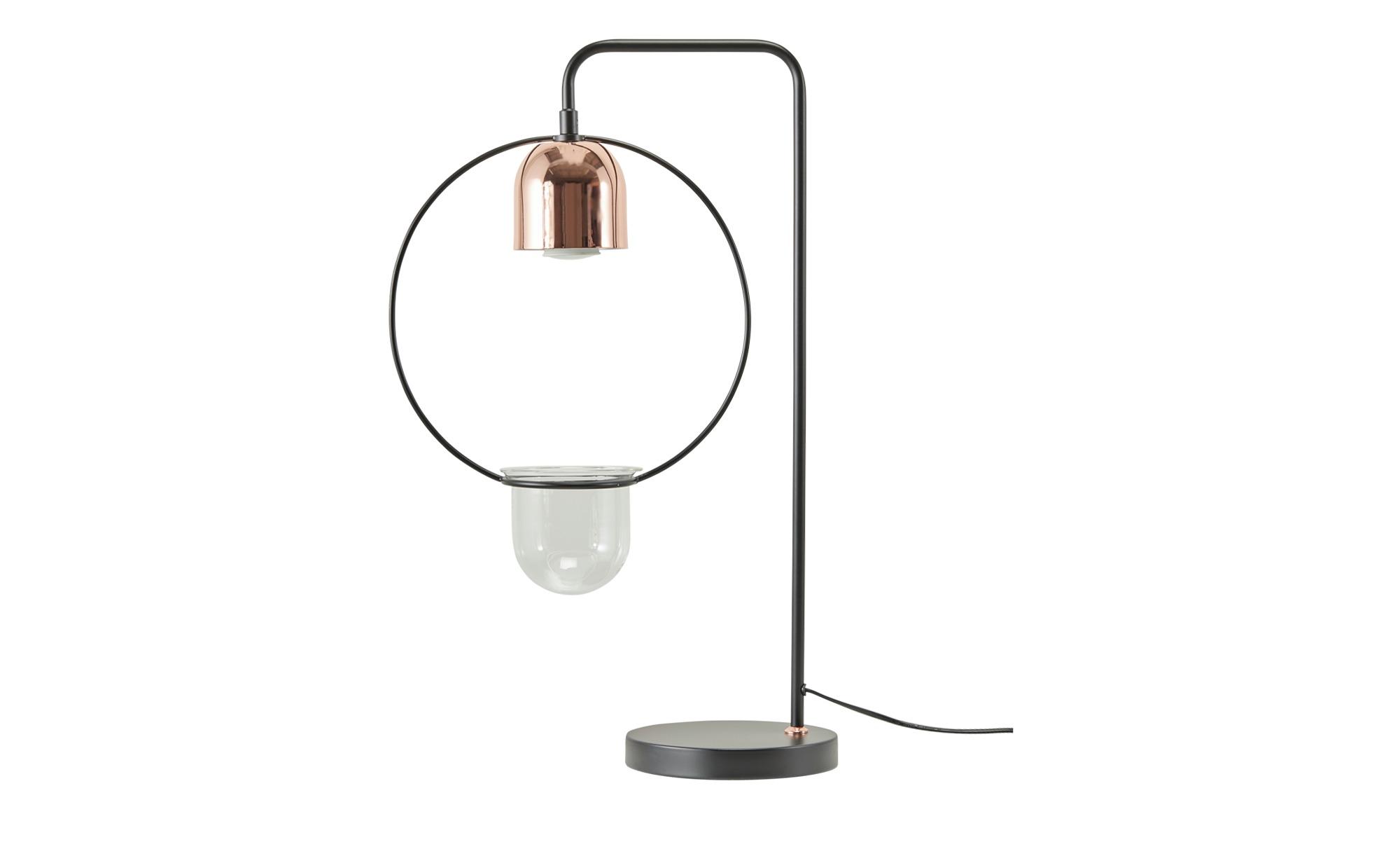 Tischleuchte, 1-flammig, mit Vase ¦ schwarz Lampen & Leuchten > Innenleuchten > Tischlampen - Höffner