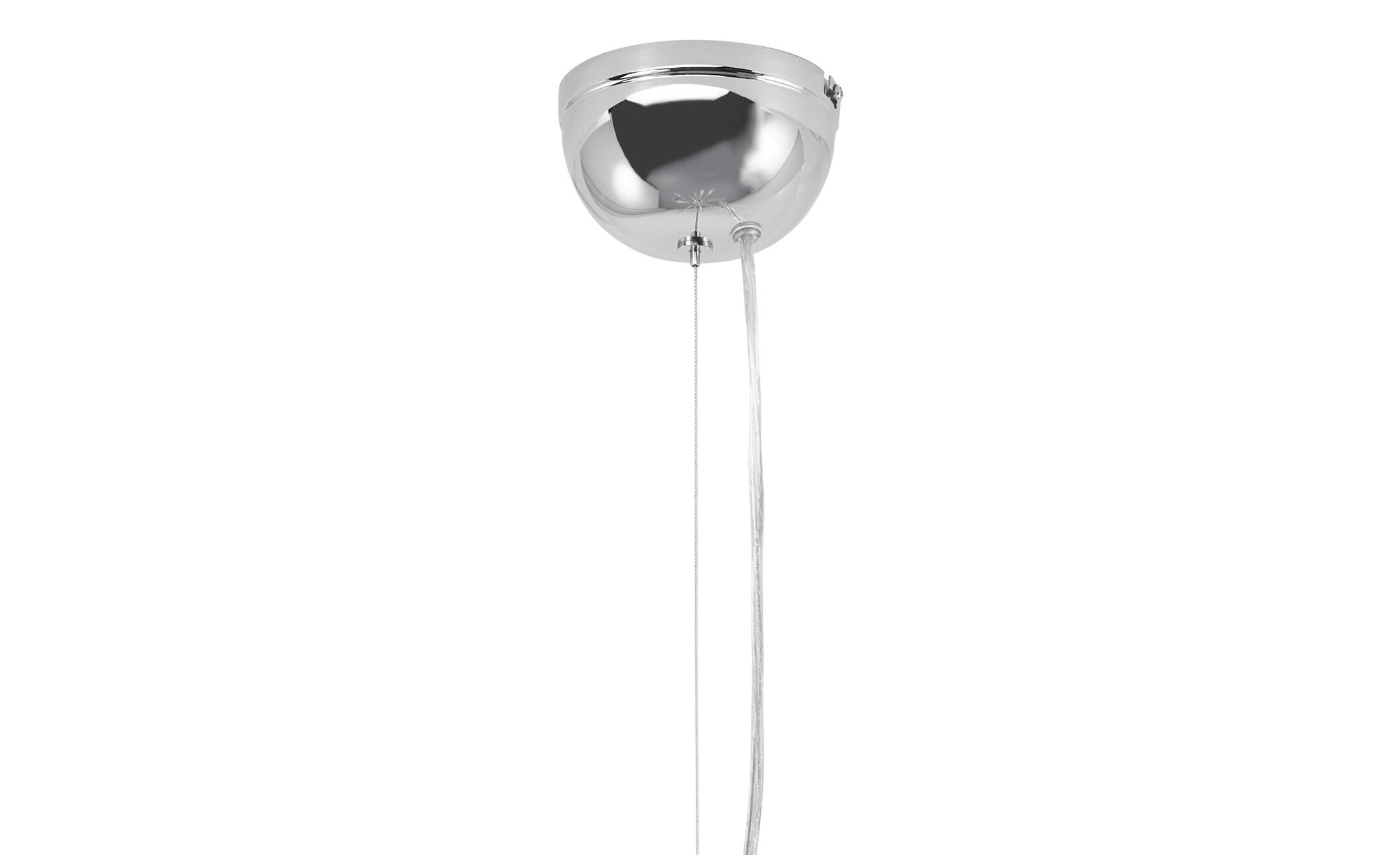 KHG Pendelleuchte, 16-flammig, chrom ¦ silber ¦ Maße (cm): H: 160 Ø: 60 Lampen & Leuchten > Innenleuchten > Pendelleuchten - Höffner