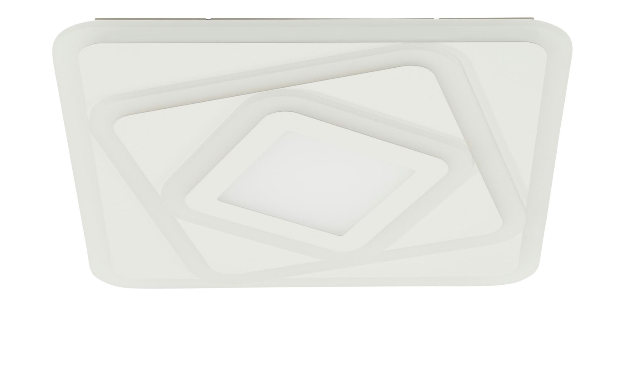 KHG LED-Deckenleuchte weiß, eckig ¦ weiß ¦ Maße (cm): B: 50 H: 5 Lampen & Leuchten > Innenleuchten > Deckenleuchten - Höffner