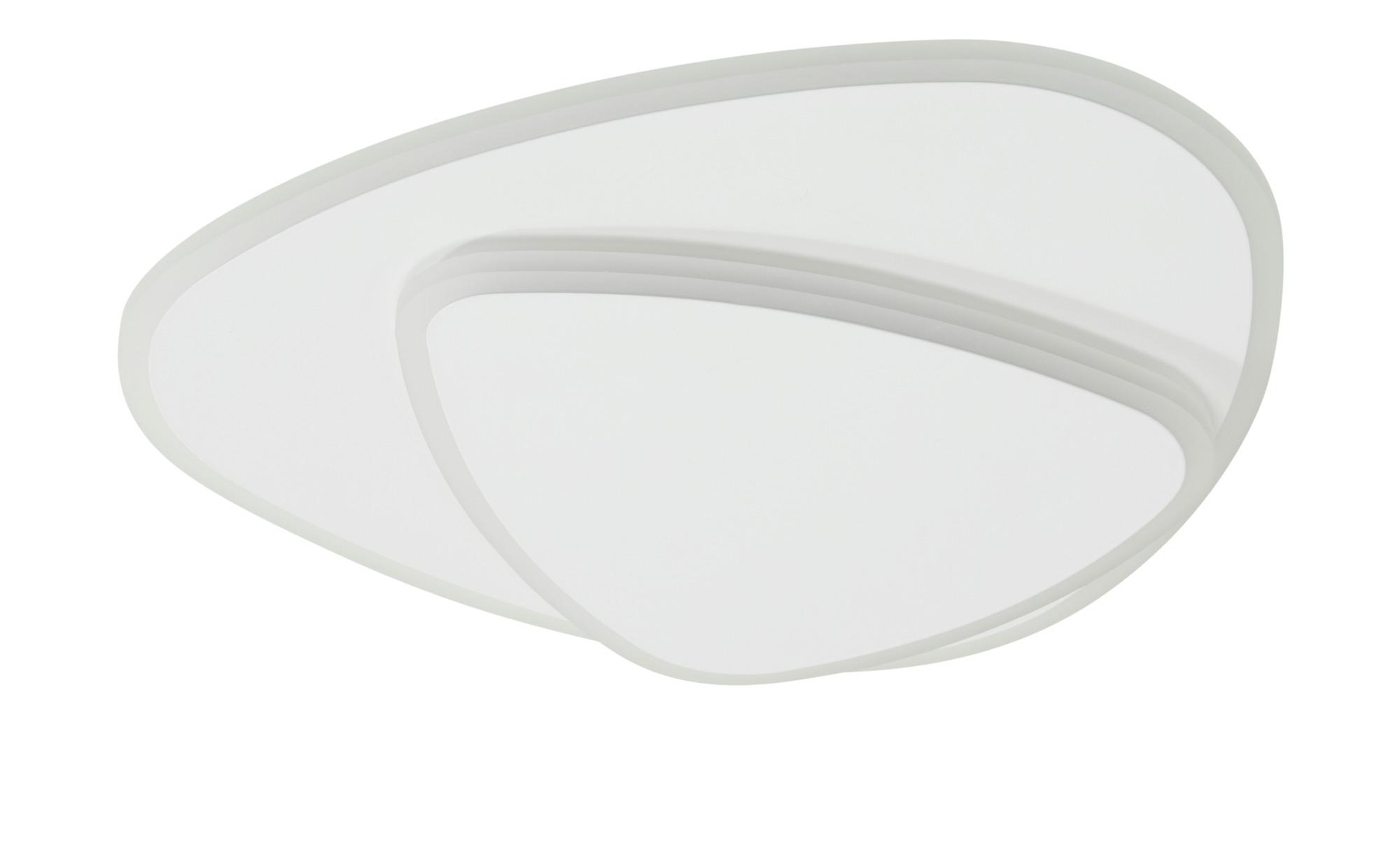 KHG LED-Deckenleuchte, weiß `Ovale` ¦ weiß ¦ Maße (cm): B: 33 H: 5,5 Lampen & Leuchten > Innenleuchten > Deckenleuchten - Höffner