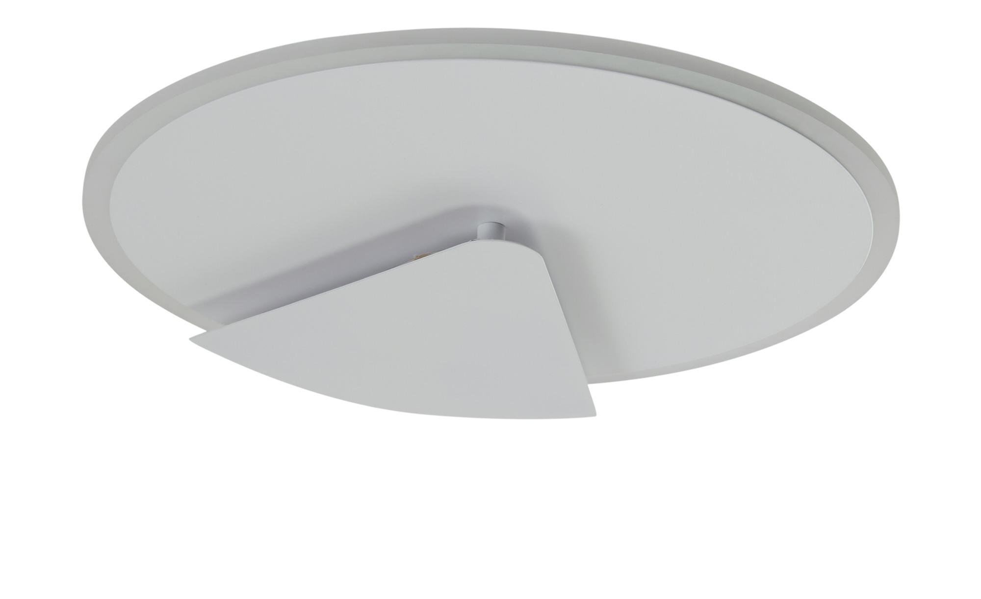 KHG LED-Deckenleuchte, 1-flammig, weiß ¦ weiß ¦ Maße (cm): H: 5,5 Ø: 38 Lampen & Leuchten > Innenleuchten > Deckenleuchten - Höffner