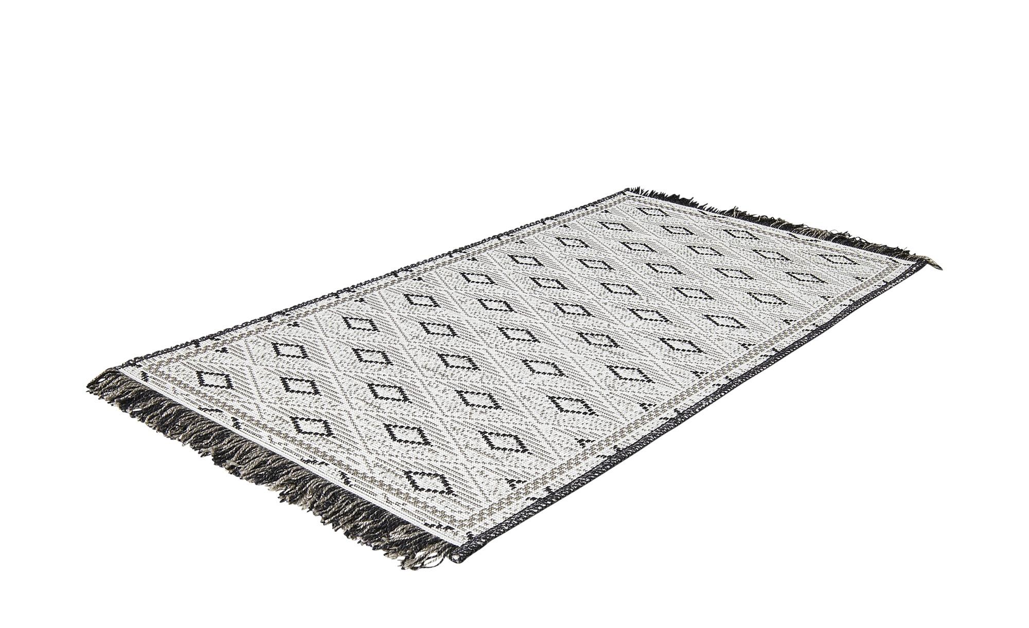 Webteppich  Tweed ¦ grau ¦ 100% Polypropylen ¦ Maße (cm): B: 80 Teppiche > Auslegware - Höffner