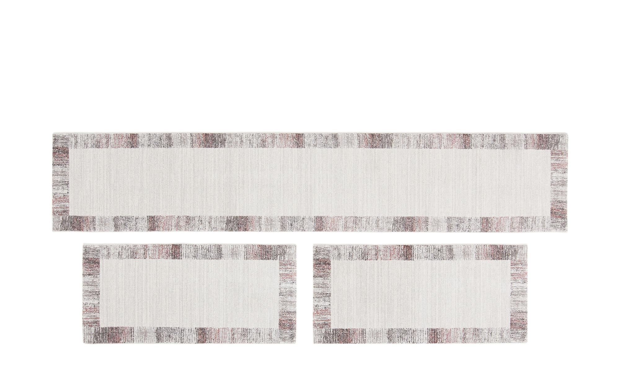 Bettumrandung  Madison ¦ grau ¦ Synthethische Fasern Teppiche > Wohnteppich günstig online kaufen