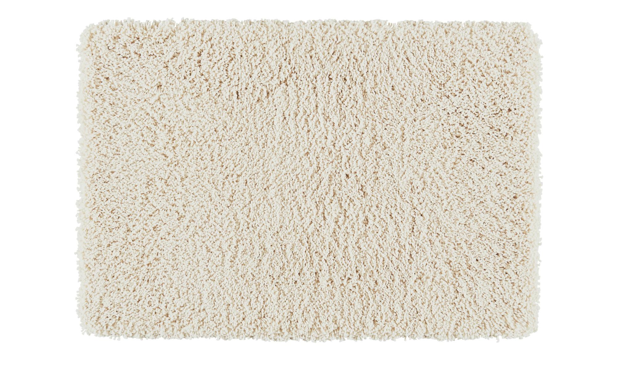 Kleine Wolke Badteppich  Trend ¦ creme ¦ 100% Polyester ¦ Maße (cm): B: 70 Badtextilien und Zubehör > Badematten & Badvorleger - Höffner