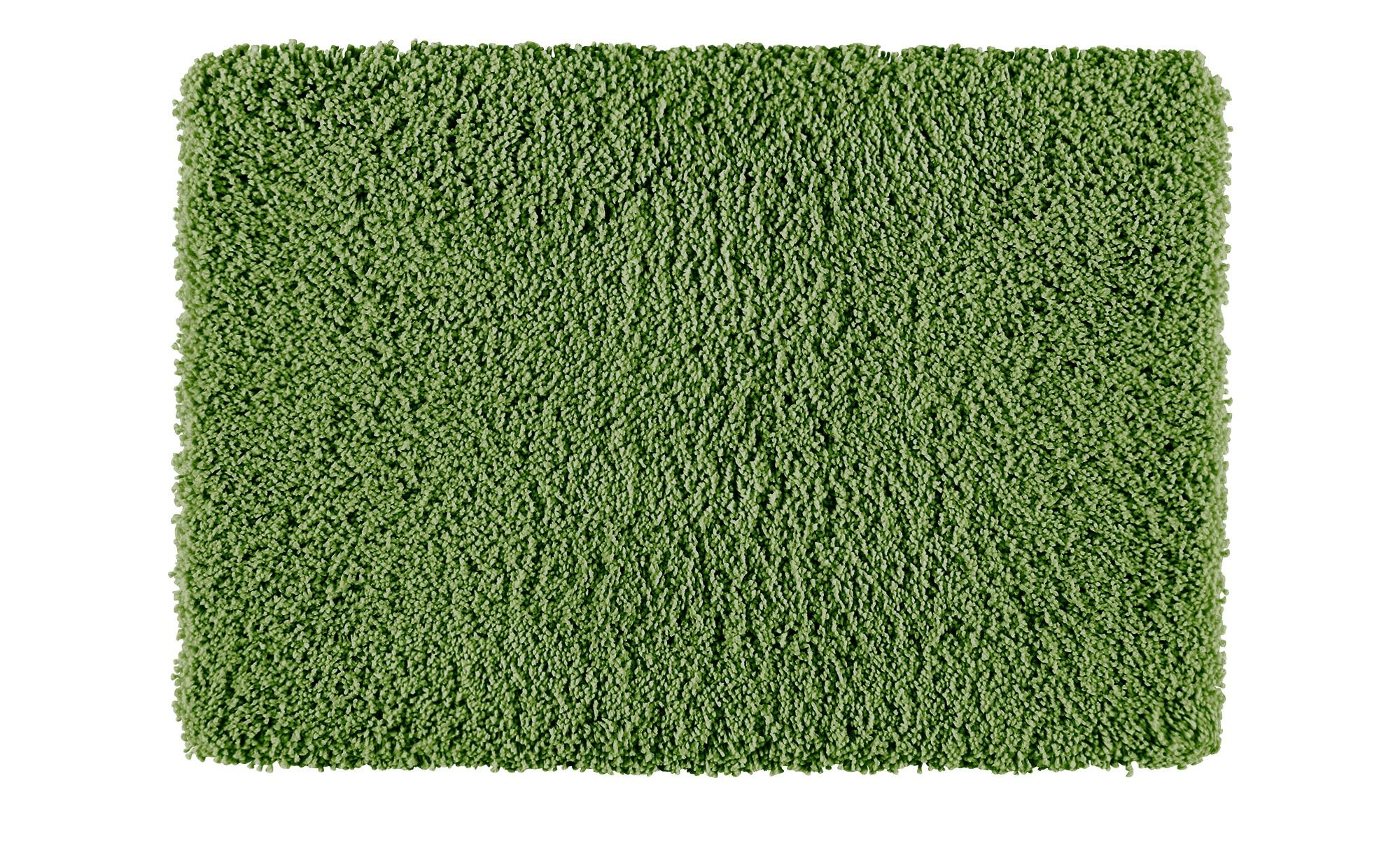 Kleine Wolke Badteppich  Trend ¦ grün ¦ 100% Polyester ¦ Maße (cm): B: 60 Badtextilien und Zubehör > Badematten & Badvorleger - Höffner