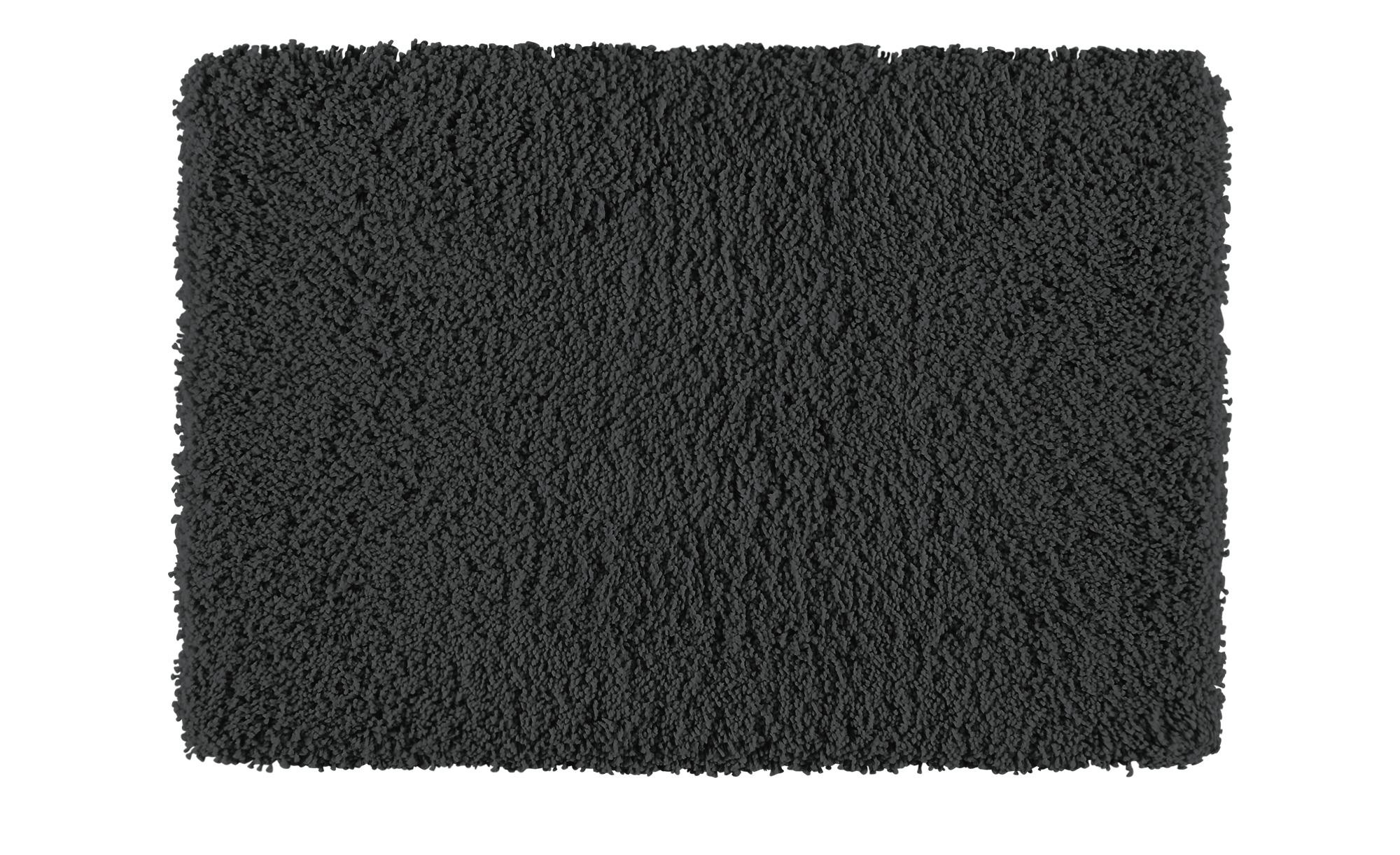 Kleine Wolke Badteppich  Trend ¦ grau ¦ 100% Polyester ¦ Maße (cm): B: 55 Badtextilien und Zubehör > Badematten & Badvorleger - Höffner