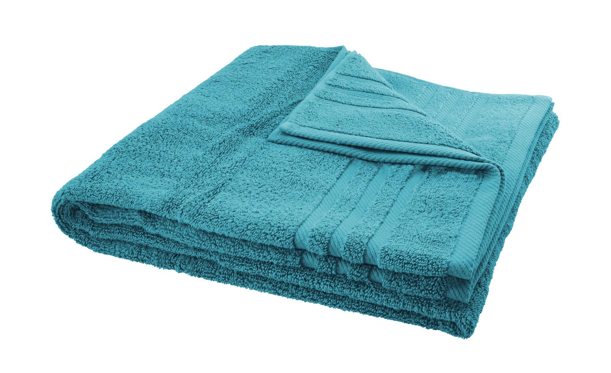 LAVIDA Duschtuch  Soft Cotton ¦ türkis/petrol ¦ reine Micro-Baumwolle ¦ Maße (cm): B: 70 Badtextilien und Zubehör > Handtücher & Badetücher > Duschtücher - Höffner