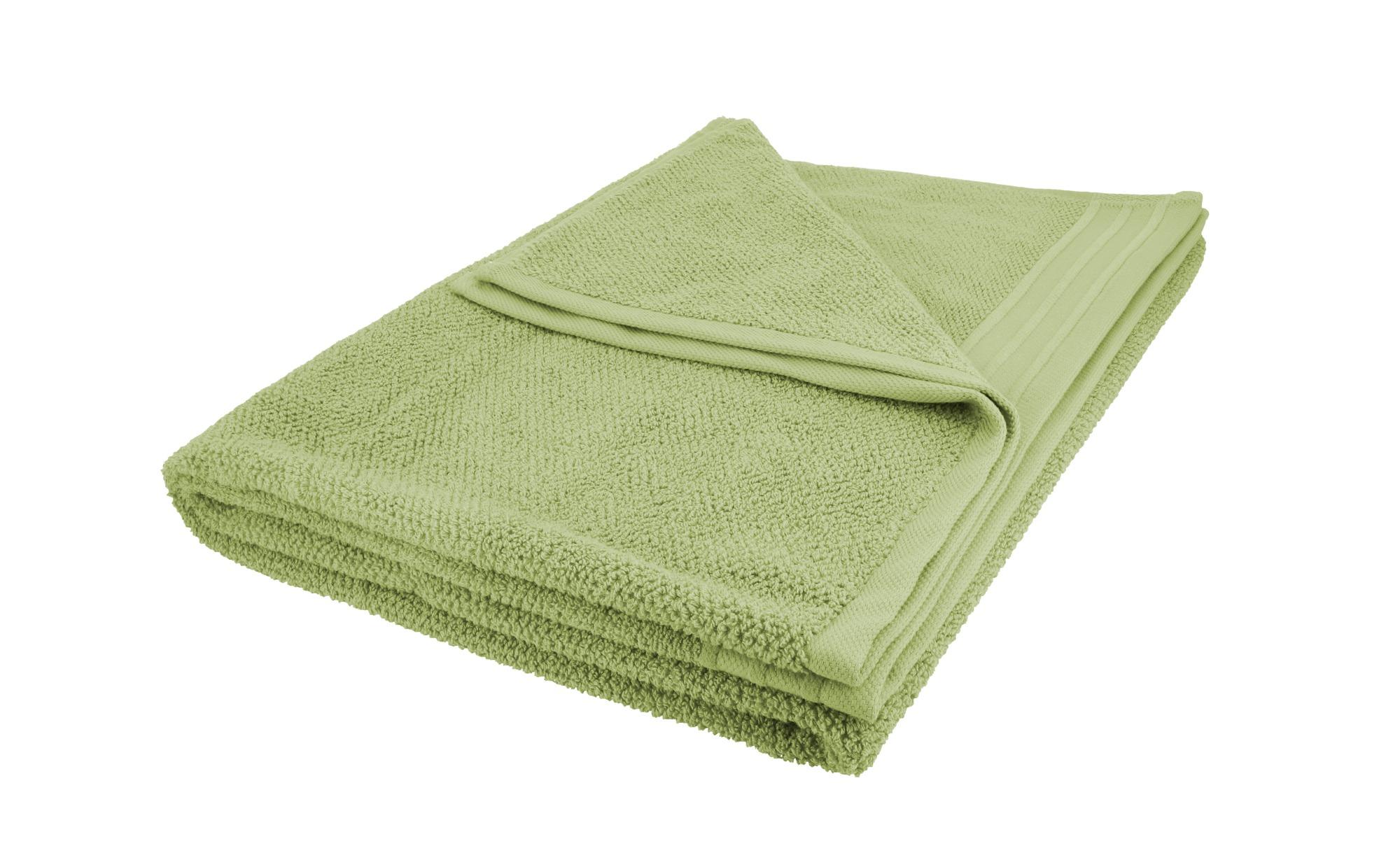 como Badetuch  Spa ¦ grün ¦ reine Baumwolle ¦ Maße (cm): B: 100 Badtextilien und Zubehör > Handtuch-Sets - Höffner