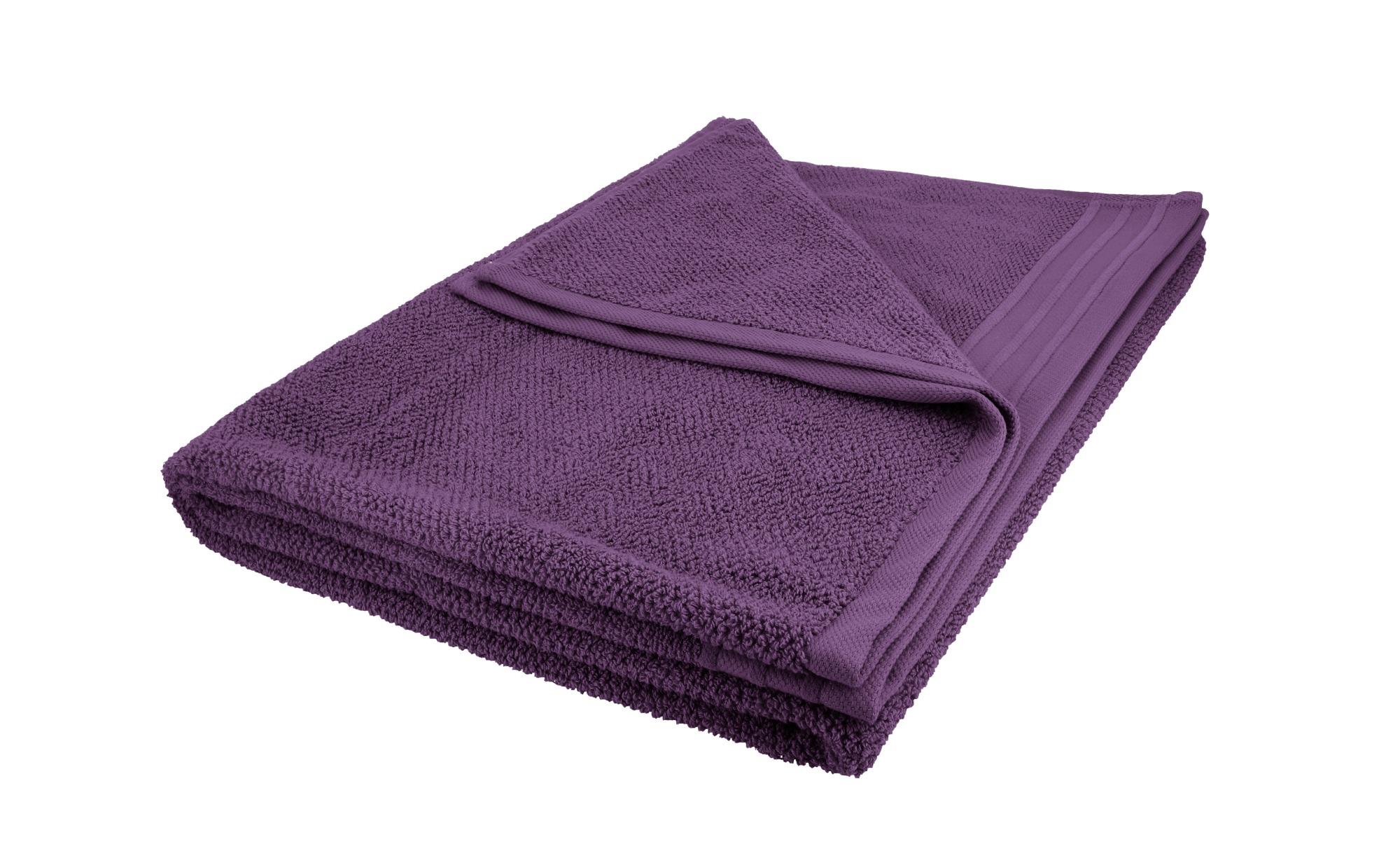 como Badetuch  Spa ¦ lila/violett ¦ reine Baumwolle ¦ Maße (cm): B: 100 Badtextilien und Zubehör > Badetücher > Badetücher 100x150 cm - Höffner