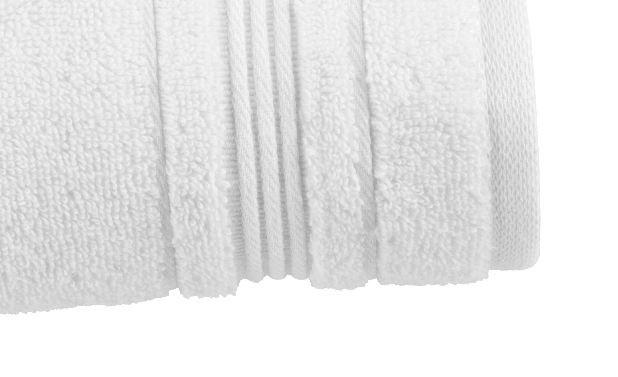 VOSSEN Badetuch  Soft Dreams ¦ weiß ¦ 100% Baumwolle ¦ Maße (cm): B: 100 Badtextilien und Zubehör > Badetücher > Badetücher 100x150 cm - Höffner