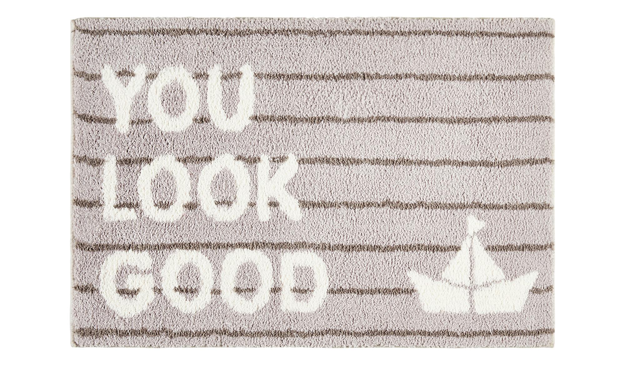 Kleine Wolke Badteppich  Look ¦ creme ¦ 100% Polyester ¦ Maße (cm): B: 70 Badtextilien und Zubehör > Badematten & Badvorleger - Höffner