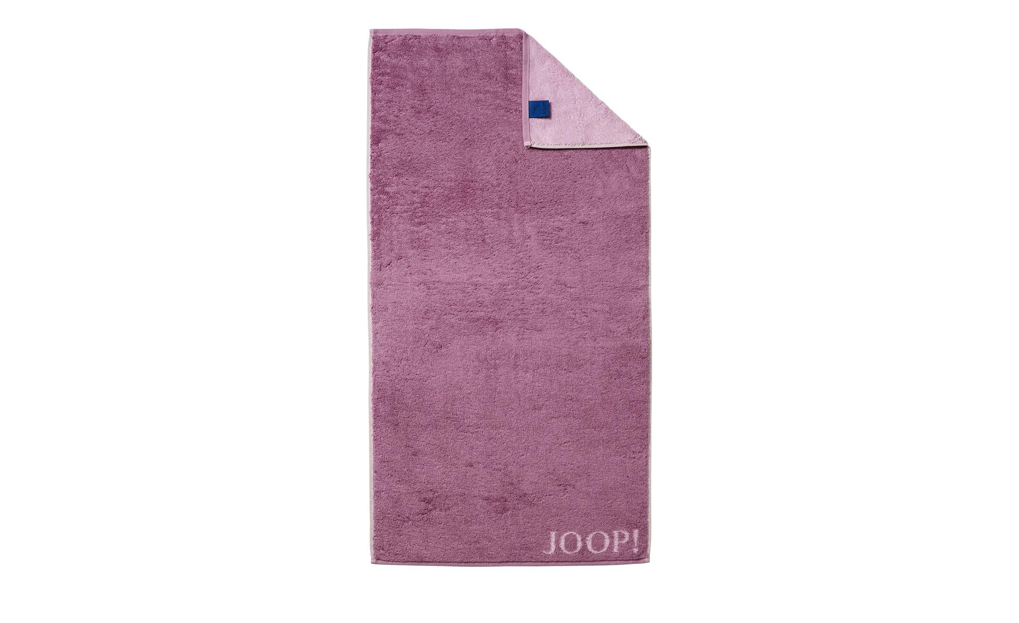 JOOP! Duschtuch  JOOP 1600 Classic Doubleface ¦ rosa/pink ¦ 100% Baumwolle ¦ Maße (cm): B: 80 Badtextilien und Zubehör > Handtücher & Badetücher > Duschtücher - Höffner