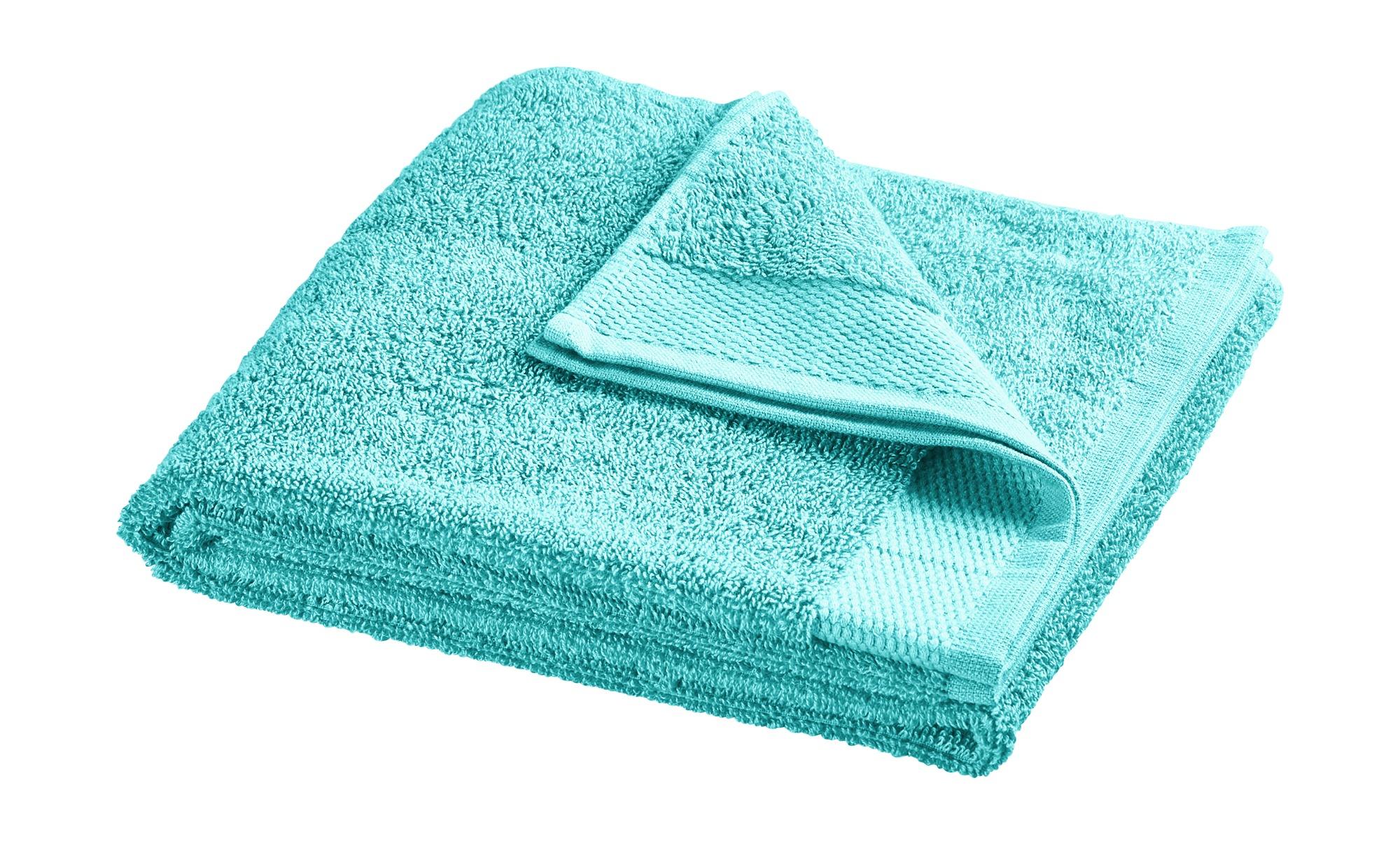 HOME STORY Duschtuch  Bubble ¦ türkis/petrol ¦ reine Baumwolle (100% Baumwolle) Badtextilien und Zubehör > Handtücher & Badetücher > Handtücher - Höff