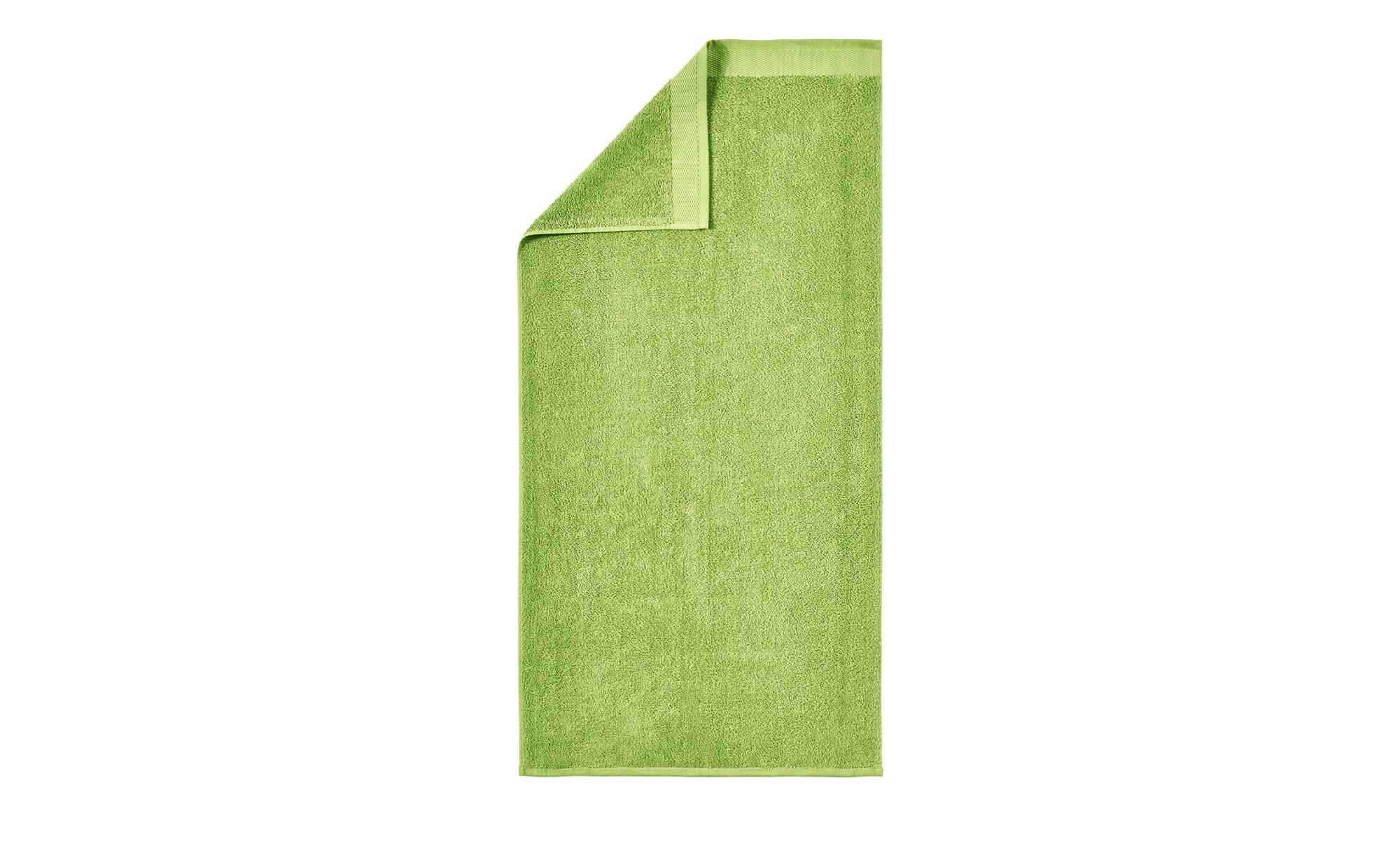 HOME STORY Badetuch  Bubble ¦ grün ¦ reine Baumwolle (100% Baumwolle) ¦ Maße (cm): B: 100 Badtextilien und Zubehör > Handtücher & Badetücher > Badetücher & Saunatücher - Höffner