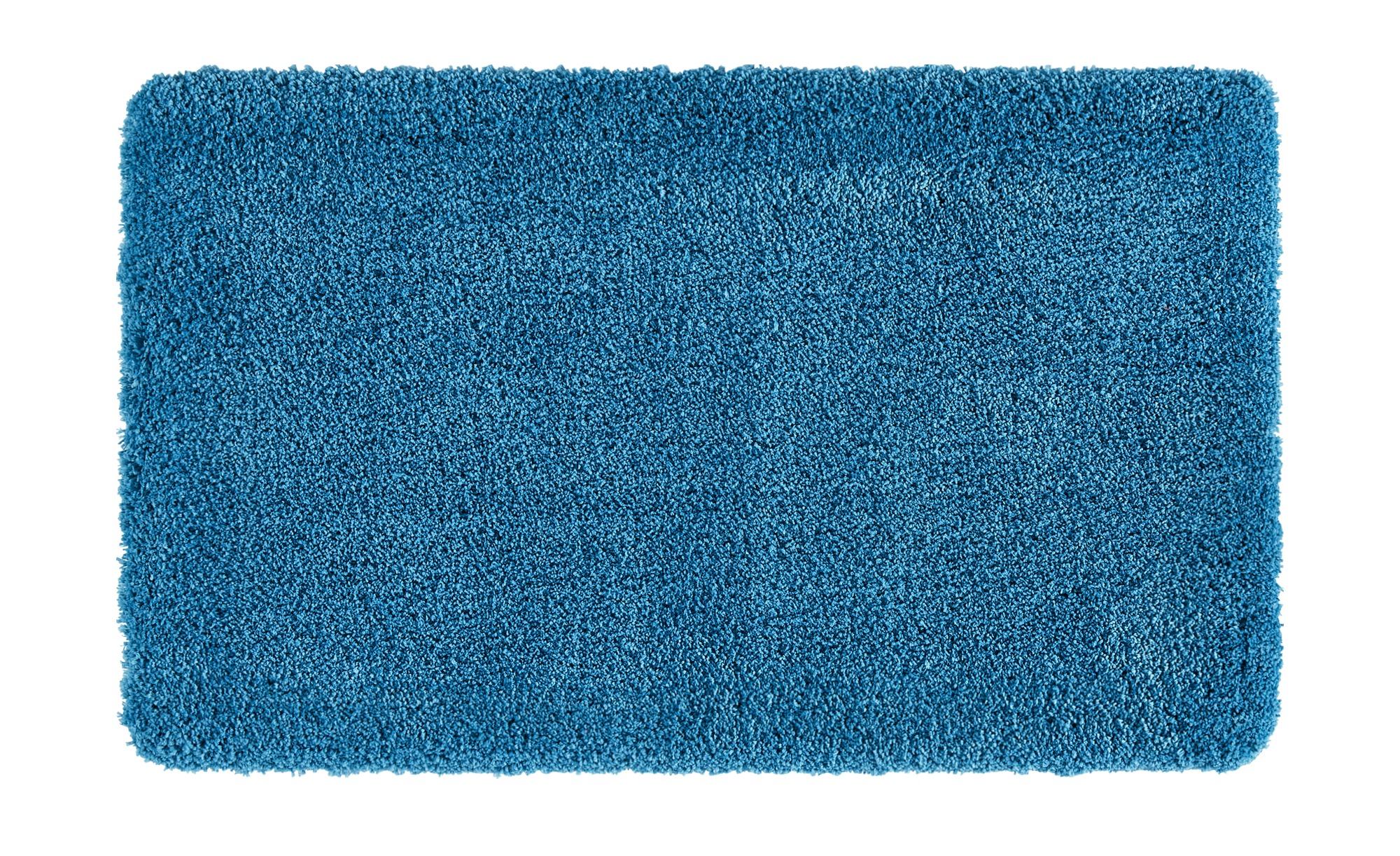 HOME STORY Badteppich  Softy ¦ türkis/petrol ¦ 100% Polyester ¦ Maße (cm): B: 70 Badtextilien und Zubehör > Badematten & Badvorleger - Höffner