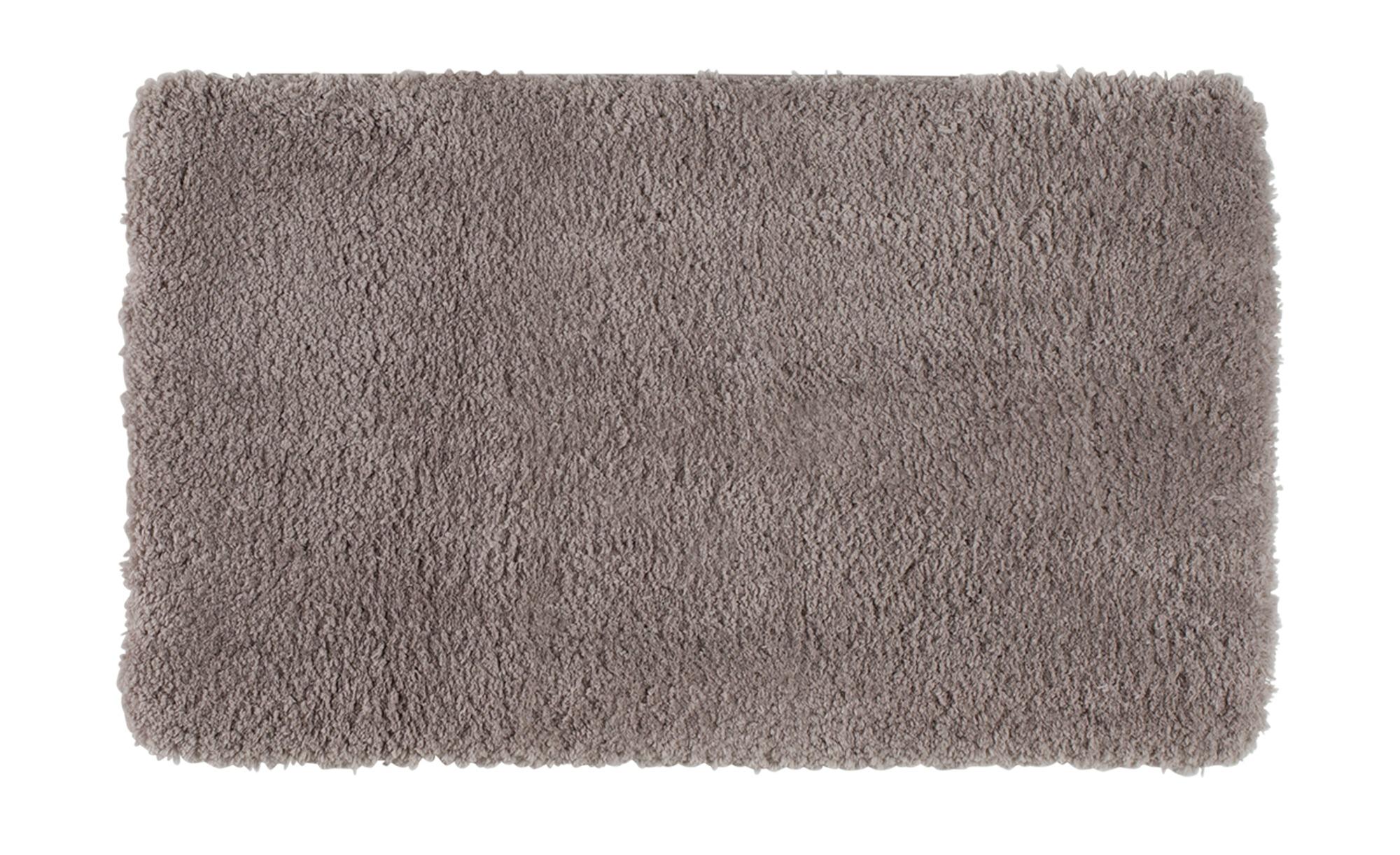 Badteppich  Teddy ¦ beige ¦ 100% Polyester ¦ Maße (cm): B: 60 Badtextilien und Zubehör > Badematten & Badvorleger - Höffner