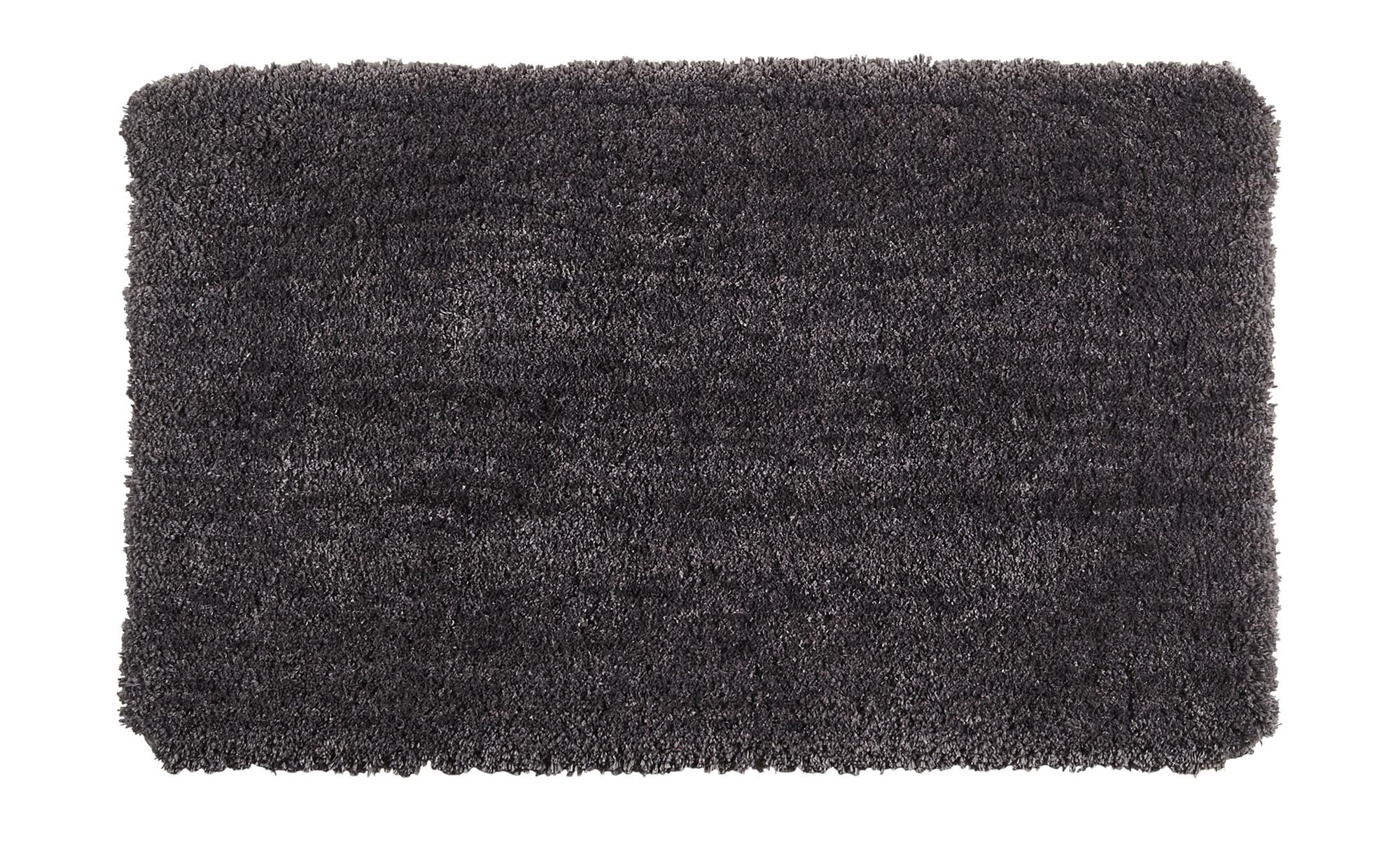 Badteppich  Teddy ¦ grau ¦ 100% Polyester ¦ Maße (cm): B: 60 Badtextilien und Zubehör > Badematten & Badvorleger - Höffner