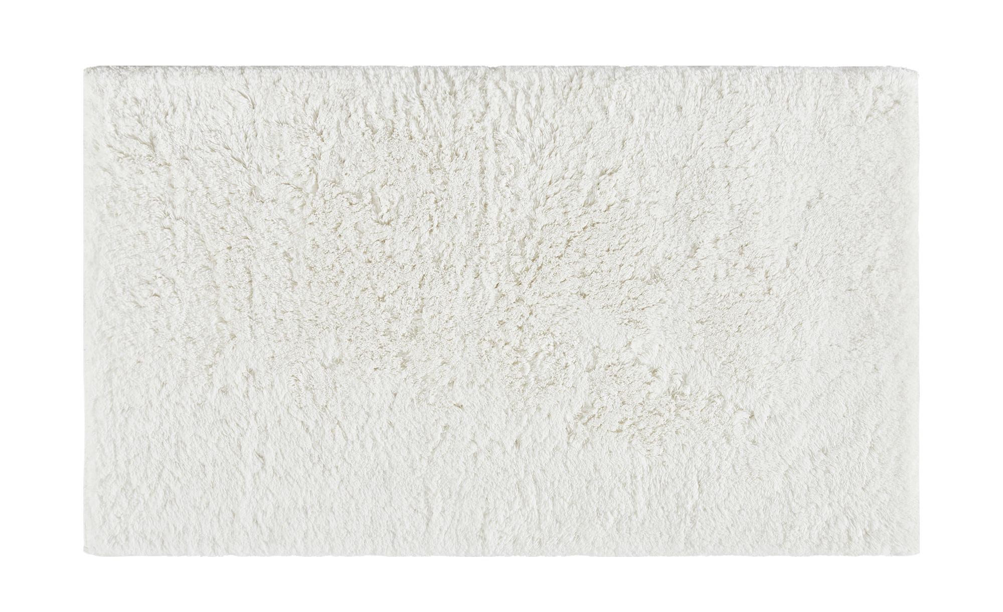 Badteppich  Wölkchen ¦ weiß ¦ reine Baumwolle ¦ Maße (cm): B: 60 Badtextilien und Zubehör > Badematten & Badvorleger - Höffner