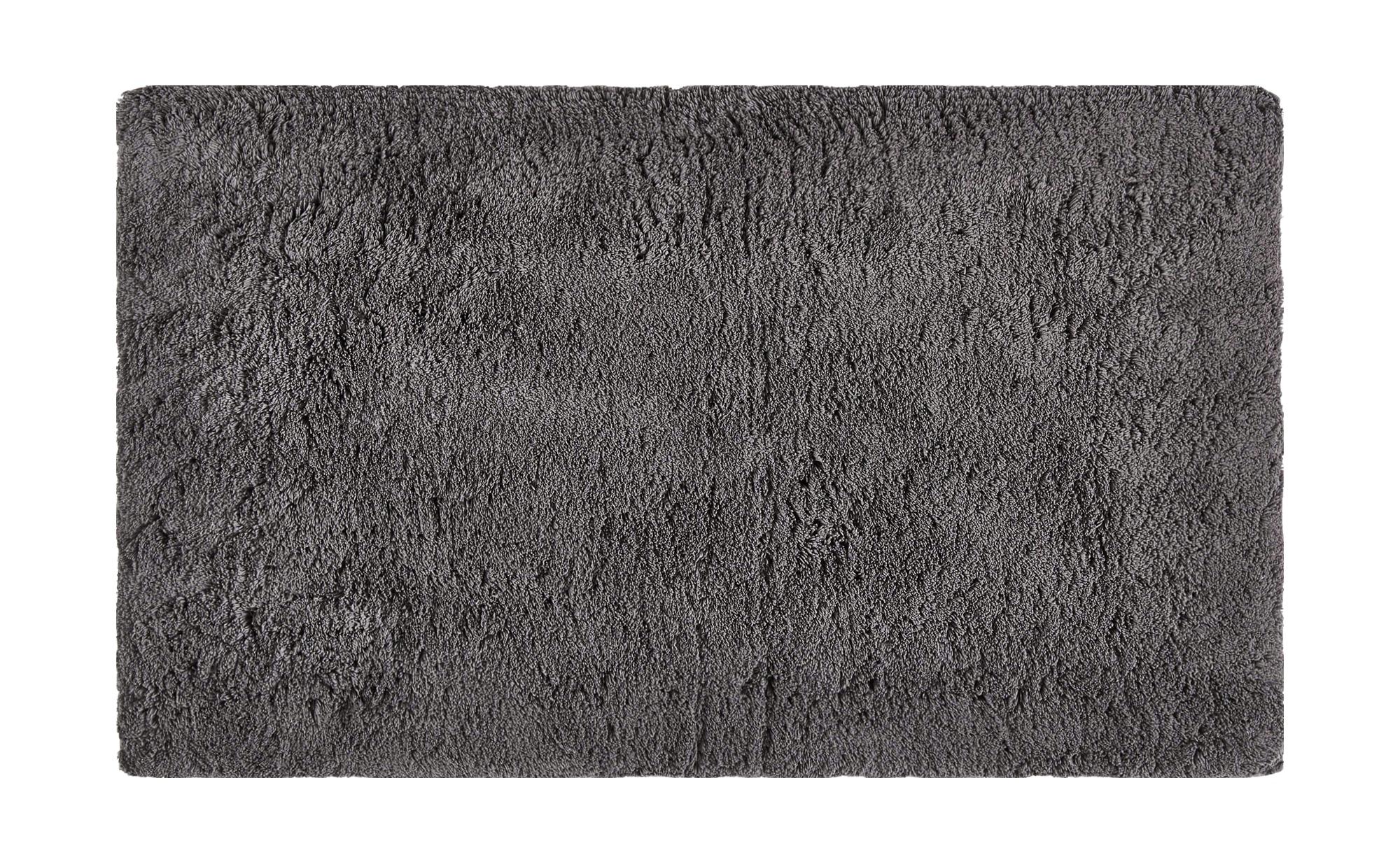 Badteppich  Wölkchen ¦ grau ¦ reine Baumwolle ¦ Maße (cm): B: 70 Badtextilien und Zubehör > Badematten & Badvorleger - Höffner