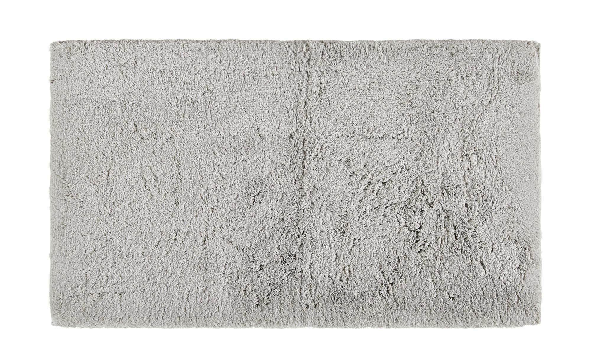 Badteppich  Wölkchen ¦ silber ¦ reine Baumwolle ¦ Maße (cm): B: 70 Badtextilien und Zubehör > Badematten & Badvorleger - Höffner