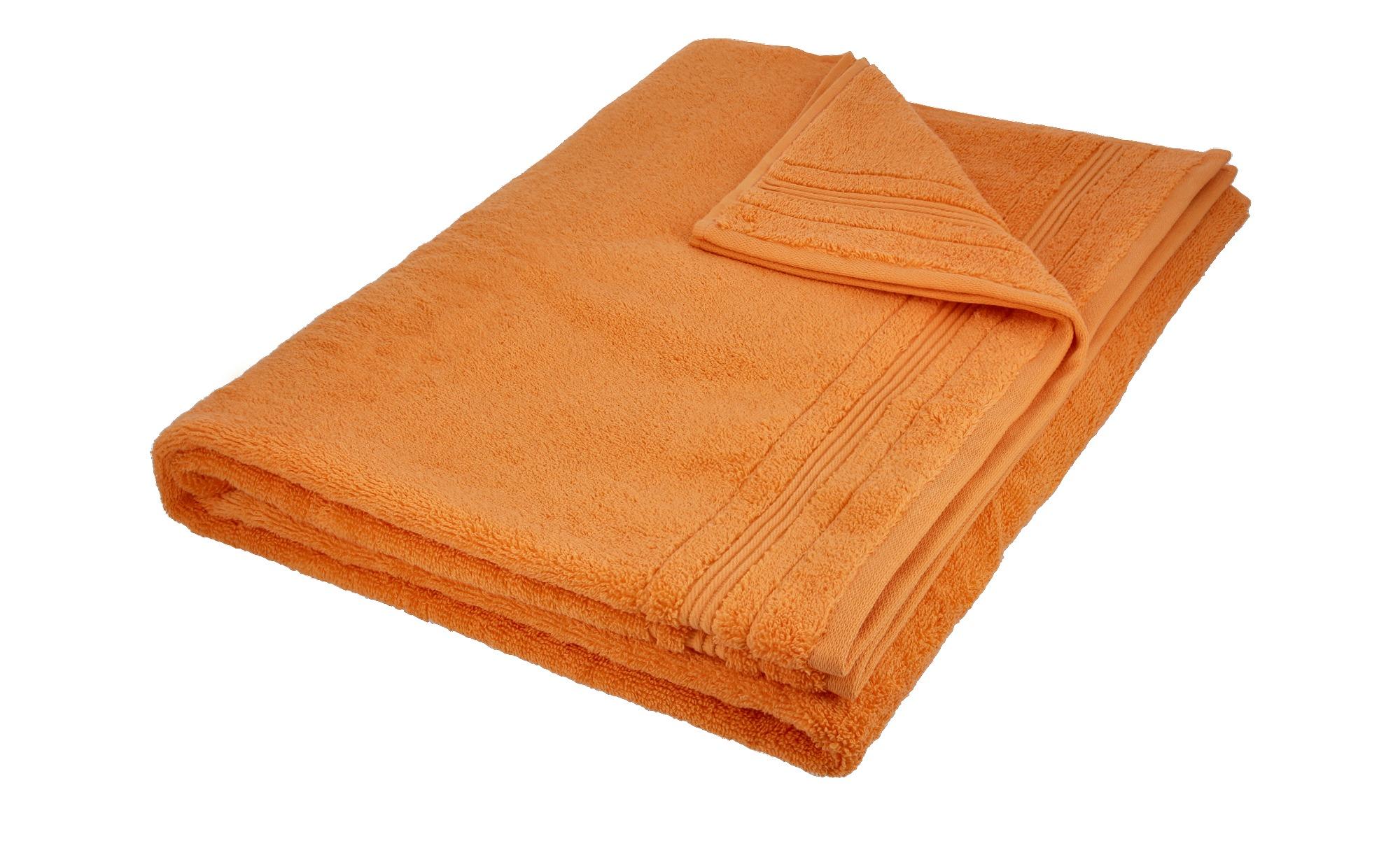 VOSSEN Badetuch  Soft Dreams ¦ gelb ¦ 100% Baumwolle ¦ Maße (cm): B: 100 Badtextilien und Zubehör > Handtücher & Badetücher > Badetücher & Saunatücher - Höffner