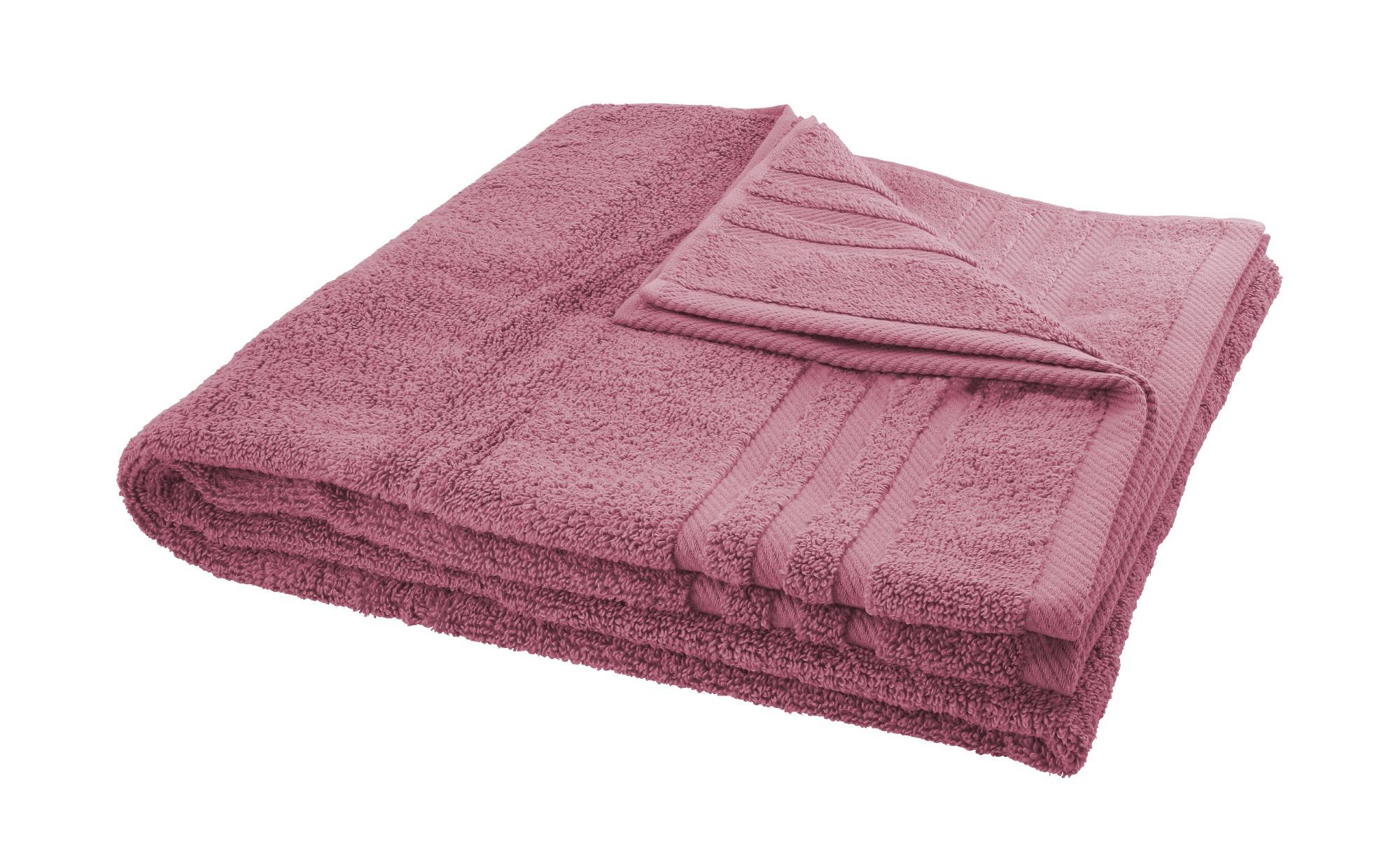LAVIDA Duschtuch  Soft Cotton ¦ lila/violett ¦ reine Micro-Baumwolle ¦ Maße (cm): B: 70 Badtextilien und Zubehör > Handtücher & Badetücher > Duschtücher - Höffner