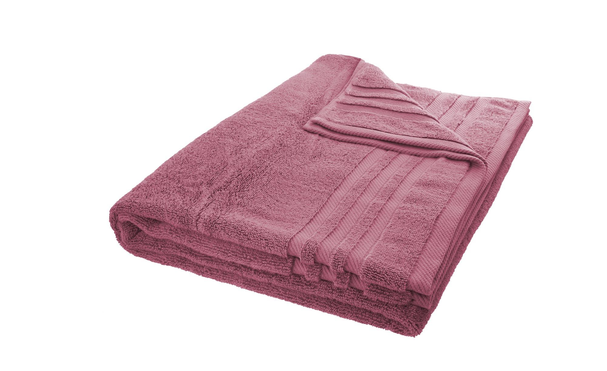 LAVIDA Badetuch  Soft Cotton ¦ lila/violett ¦ reine Micro-Baumwolle ¦ Maße (cm): B: 100 Badtextilien und Zubehör > Handtücher & Badetücher > Badetücher & Saunatücher - Höffner