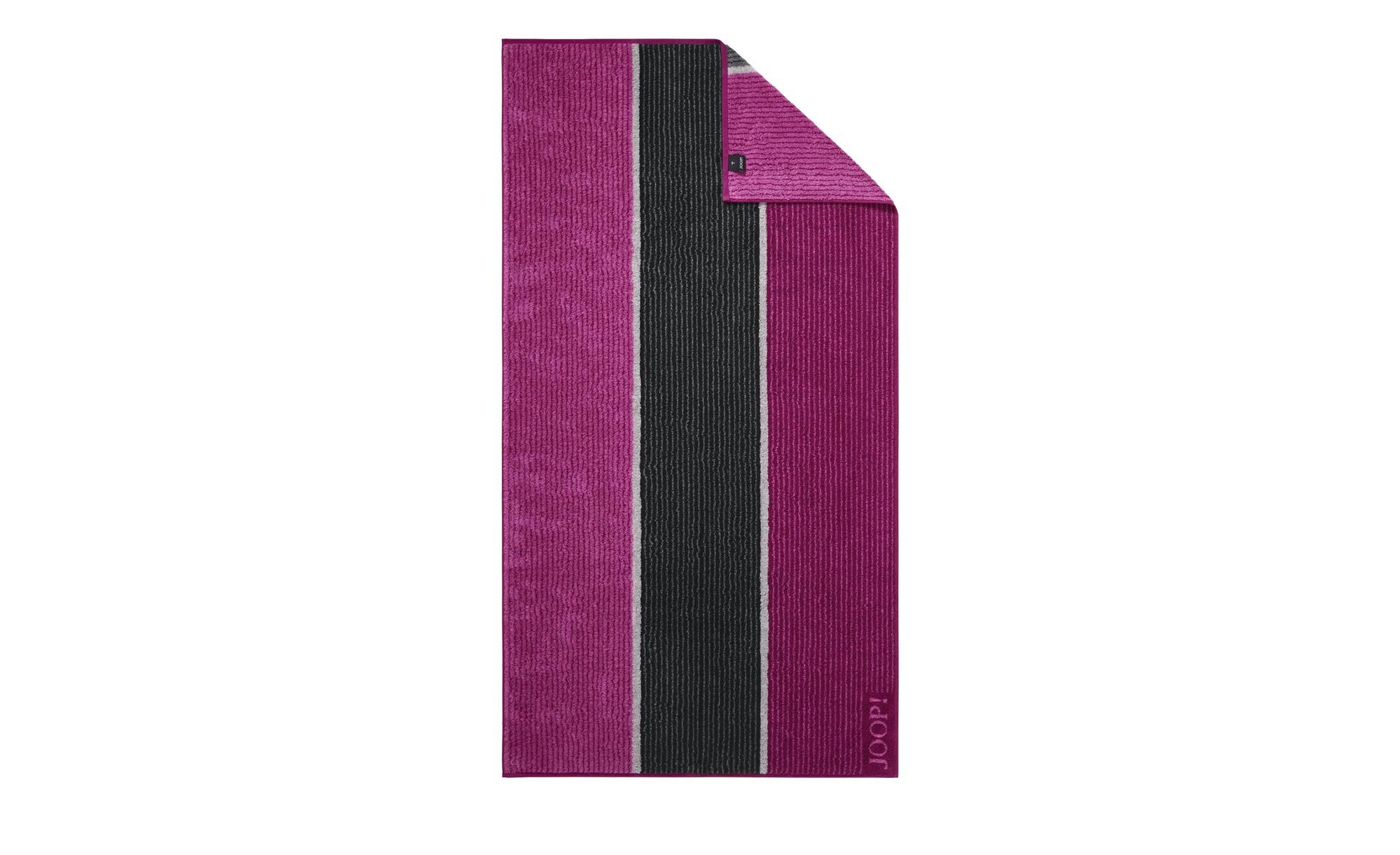 JOOP! Duschtuch  JOOP 1658 Streifen ¦ rosa/pink ¦ 100% Baumwolle  ¦ Maße (cm): B: 80 Badtextilien und Zubehör > Handtücher & Badetücher > Duschtücher - Höffner