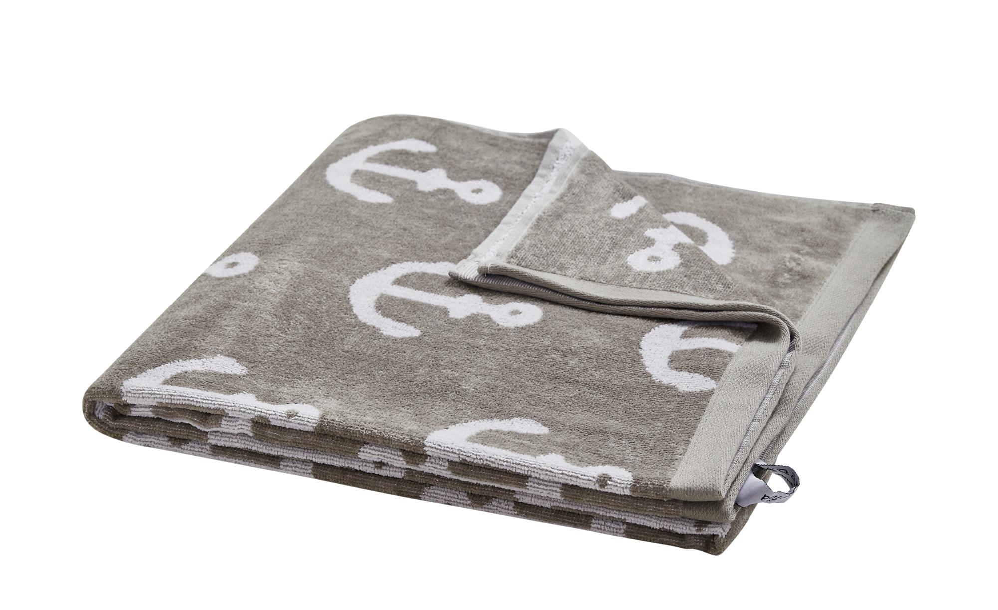 LAVIDA Strandtuch  Beach Towels ¦ grau ¦ reine Baumwolle ¦ Maße (cm): B: 70 Badtextilien und Zubehör > Handtücher & Badetücher > Strandtücher - Höffner