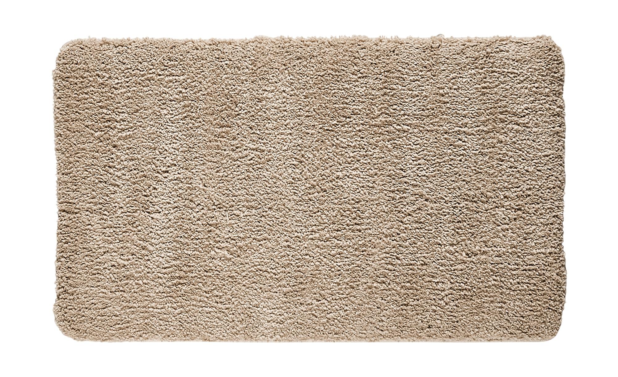 HOME STORY Badteppich  Softy ¦ beige ¦ 100% Polyester ¦ Maße (cm): B: 70 Badtextilien und Zubehör > Badematten & Badvorleger - Höffner