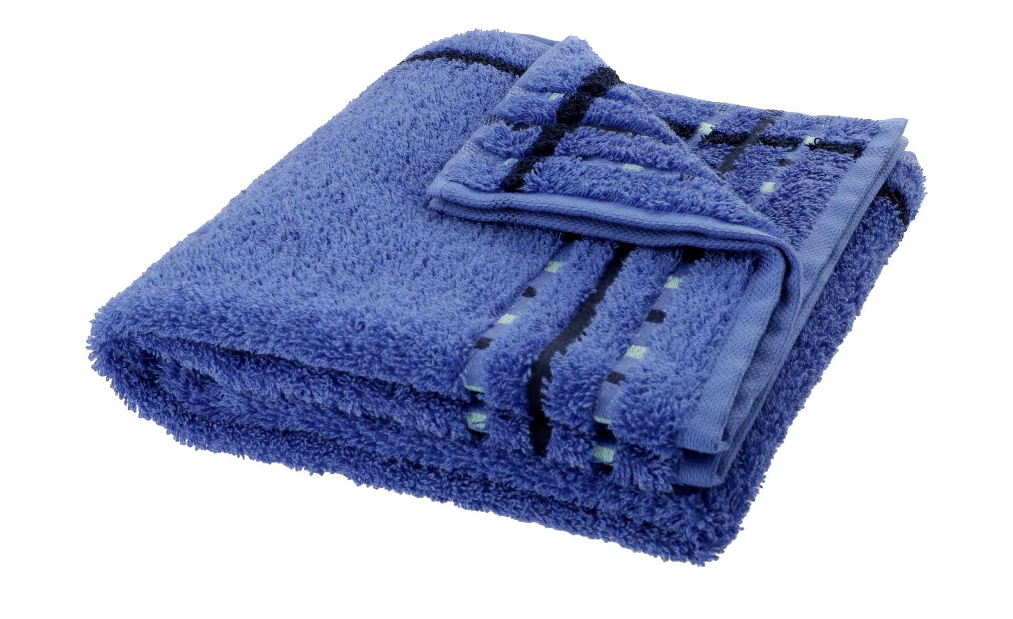VOSSEN Handtuch  Atletico ¦ blau ¦ 100% Baumwolle ¦ Maße (cm): B: 50 Badtextilien und Zubehör > Handtücher & Badetücher > Handtücher - Höffner