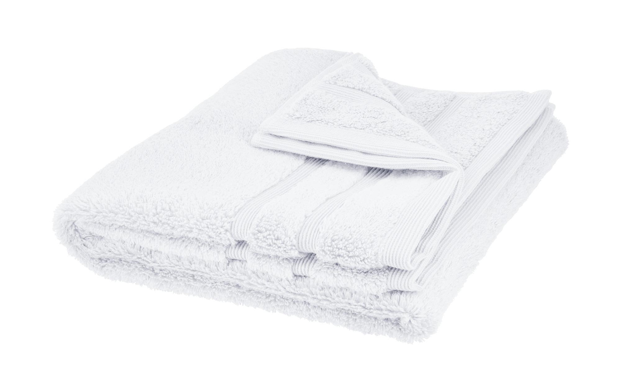 HOME STORY Handtuch  Das neue Kuschel Wuschel ¦ weiß ¦ 100% Baumwolle Badtextilien und Zubehör > Handtücher & Badetücher > Handtücher - Höffner