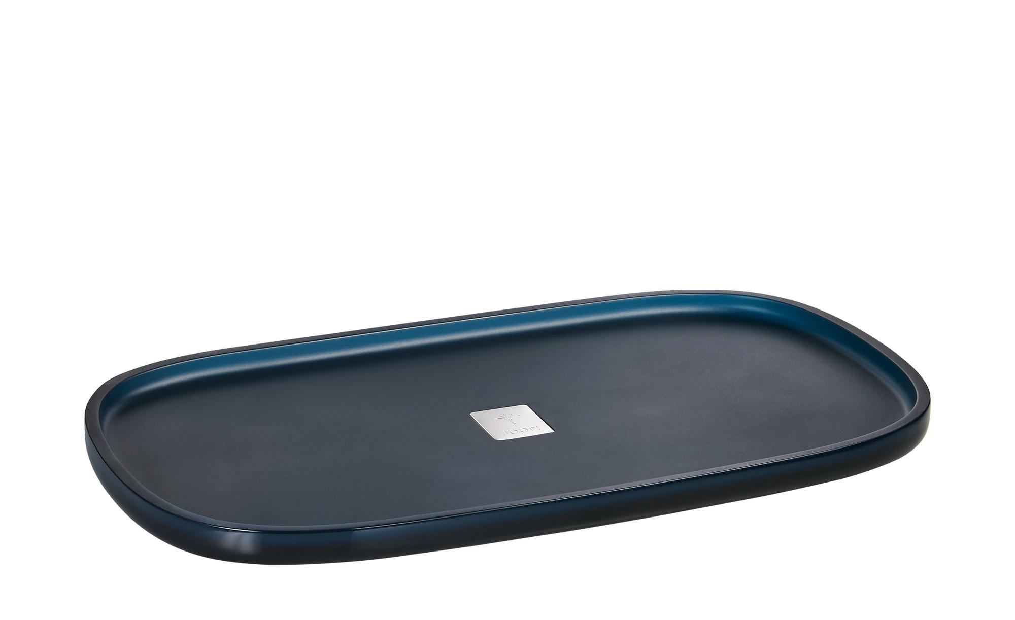 JOOP! Tablett  JOOP! Crystal Line ¦ blau ¦ Polyresin (Kunstharz), Metall Badtextilien und Zubehör > Badaccessoires - Höffner