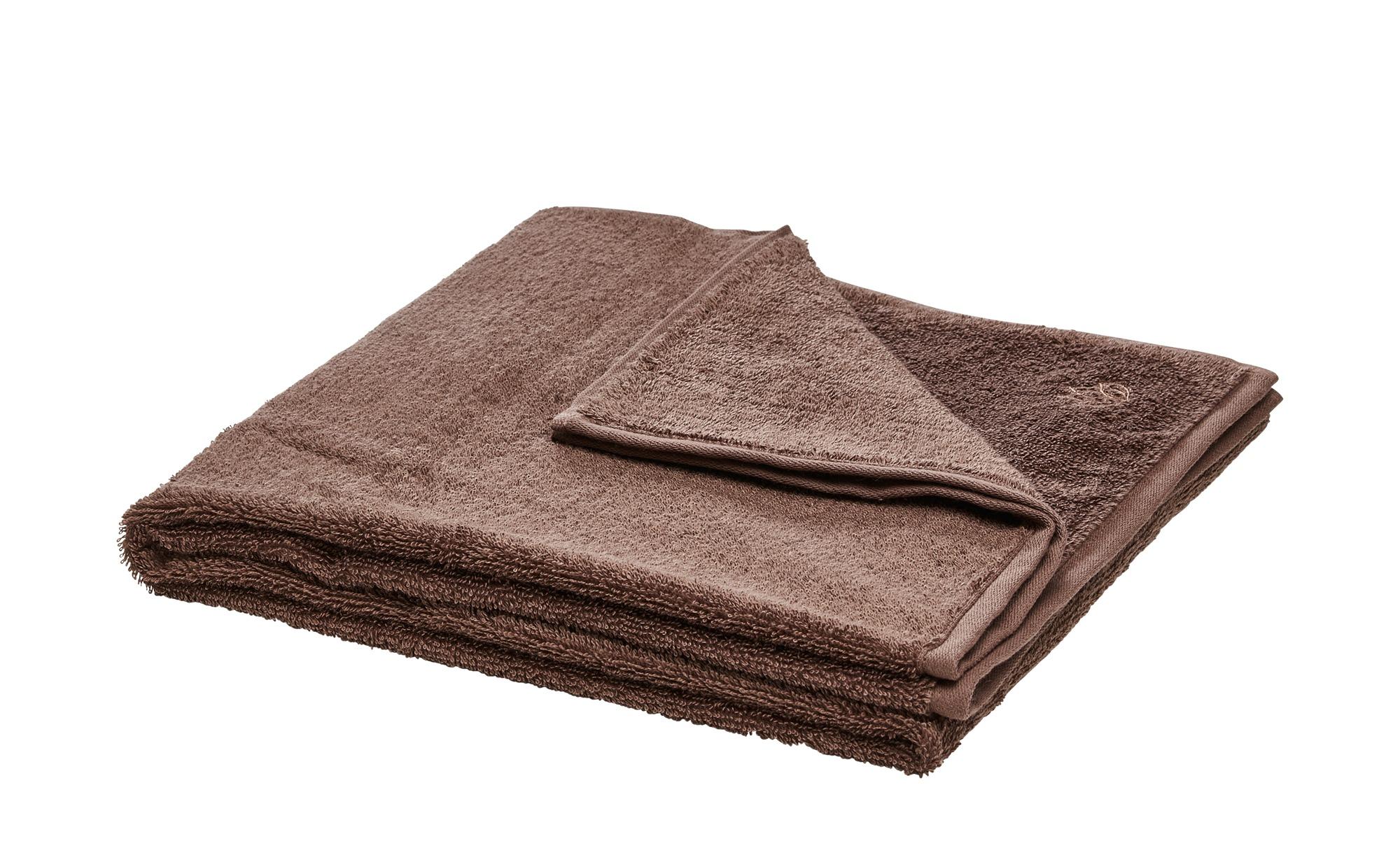 LAVIDA Duschtuch  Touch ¦ braun ¦ 100% Baumwolle ¦ Maße (cm): B: 67 Badtextilien und Zubehör > Handtücher & Badetücher > Duschtücher - Höffner