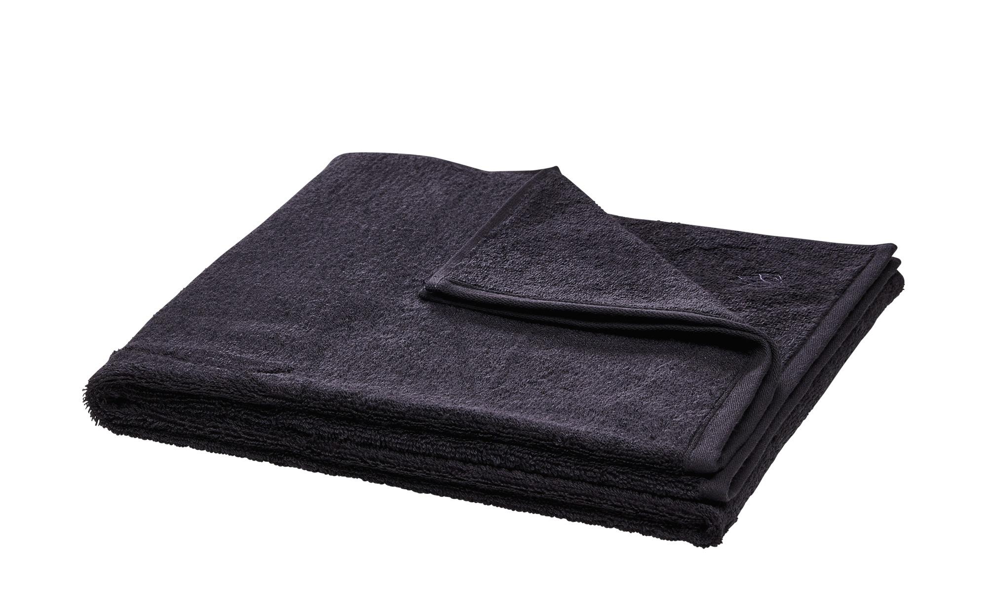 LAVIDA Duschtuch  Touch ¦ grau ¦ 100% Baumwolle ¦ Maße (cm): B: 67 Badtextilien und Zubehör > Handtücher & Badetücher > Duschtücher - Höffner