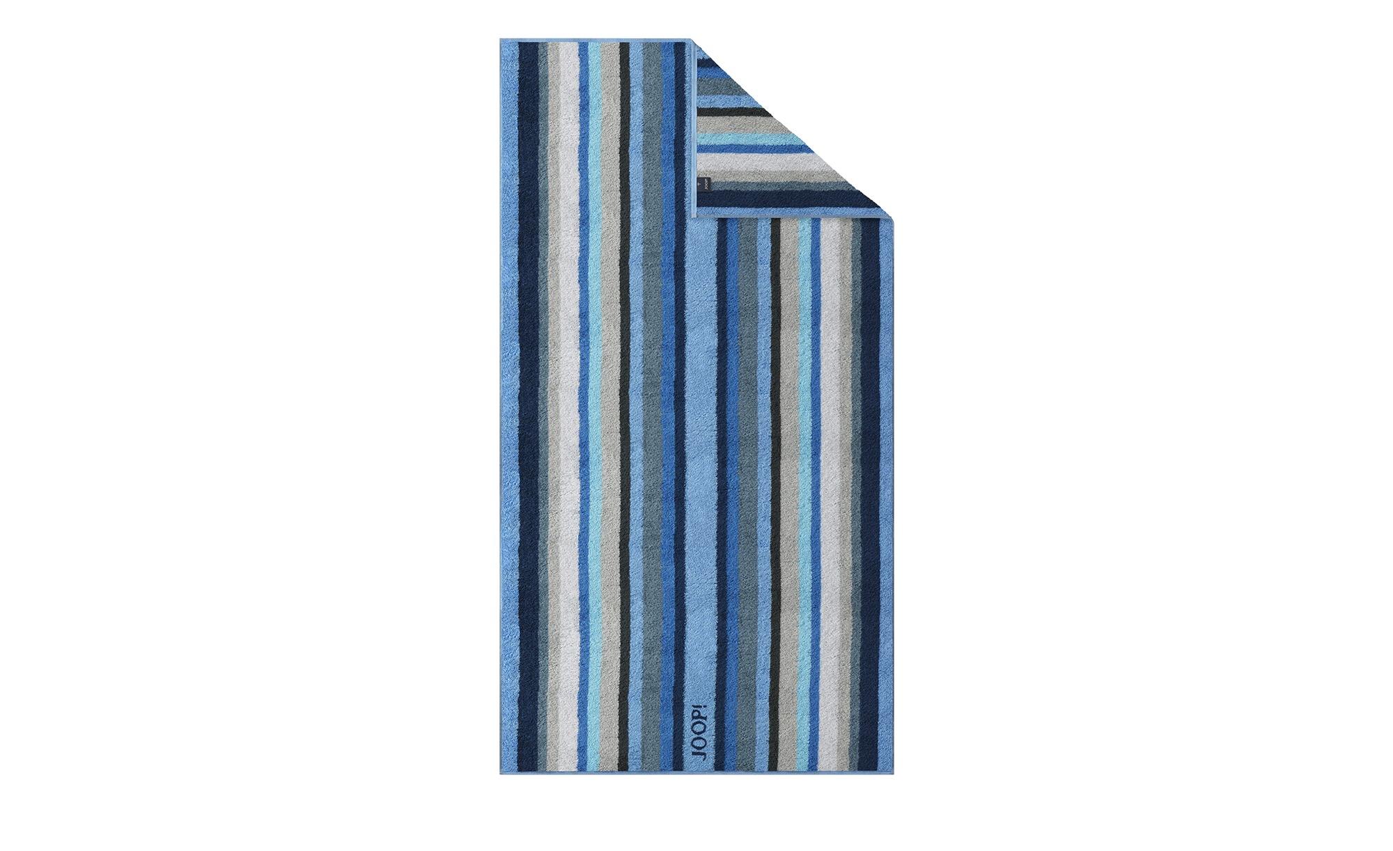 JOOP! Duschtuch  JOOP 1664 Stripes ¦ blau ¦ 100% Baumwolle  ¦ Maße (cm): B: 80 Badtextilien und Zubehör > Handtücher & Badetücher > Duschtücher - Höffner