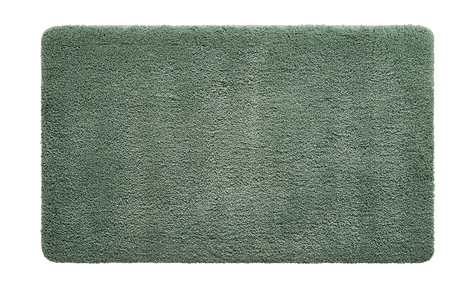HOME STORY Badteppich  Softy ¦ grün ¦ 100% Polyester ¦ Maße (cm): B: 55 Badtextilien und Zubehör > Badematten & Badvorleger - Höffner