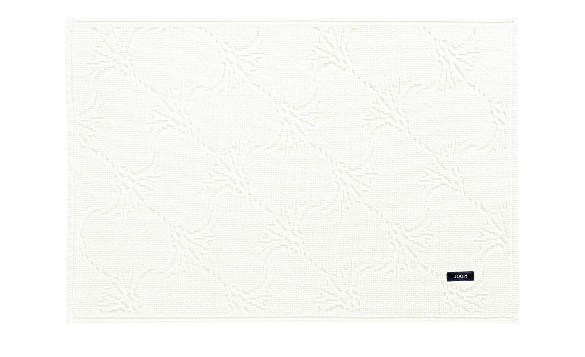 JOOP! Badteppich  Joop! New Cornflower ¦ beige ¦ 100% Baumwolle  ¦ Maße (cm): B: 70 Badtextilien und Zubehör > Badematten & Badvorleger - Höffner