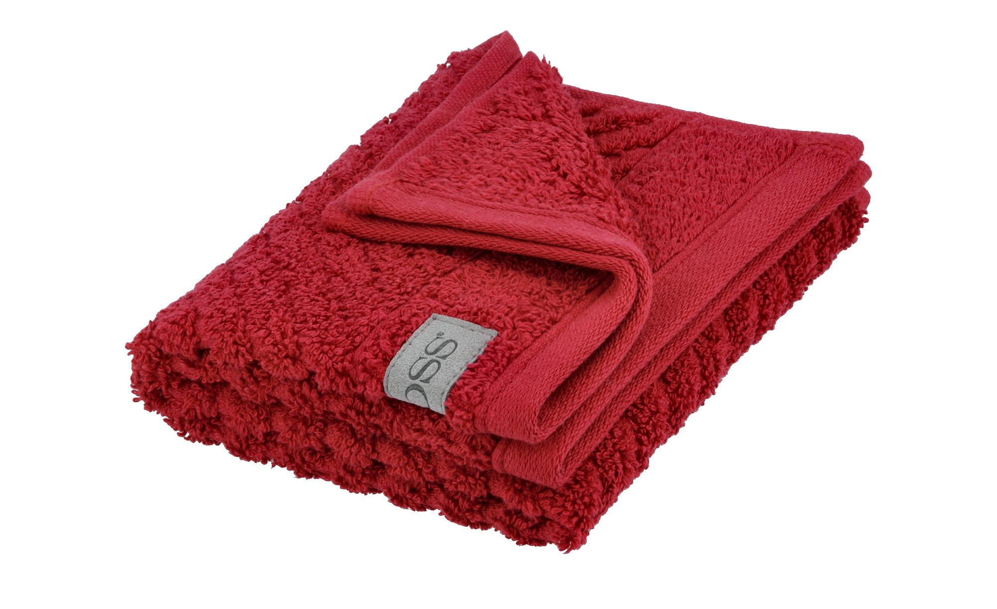 Ross Gästetuch  4006 ¦ rot ¦ 100% Baumwolle ¦ Maße (cm): B: 30 Badtextilien und Zubehör > Handtücher & Badetücher > Gästetücher - Höffner