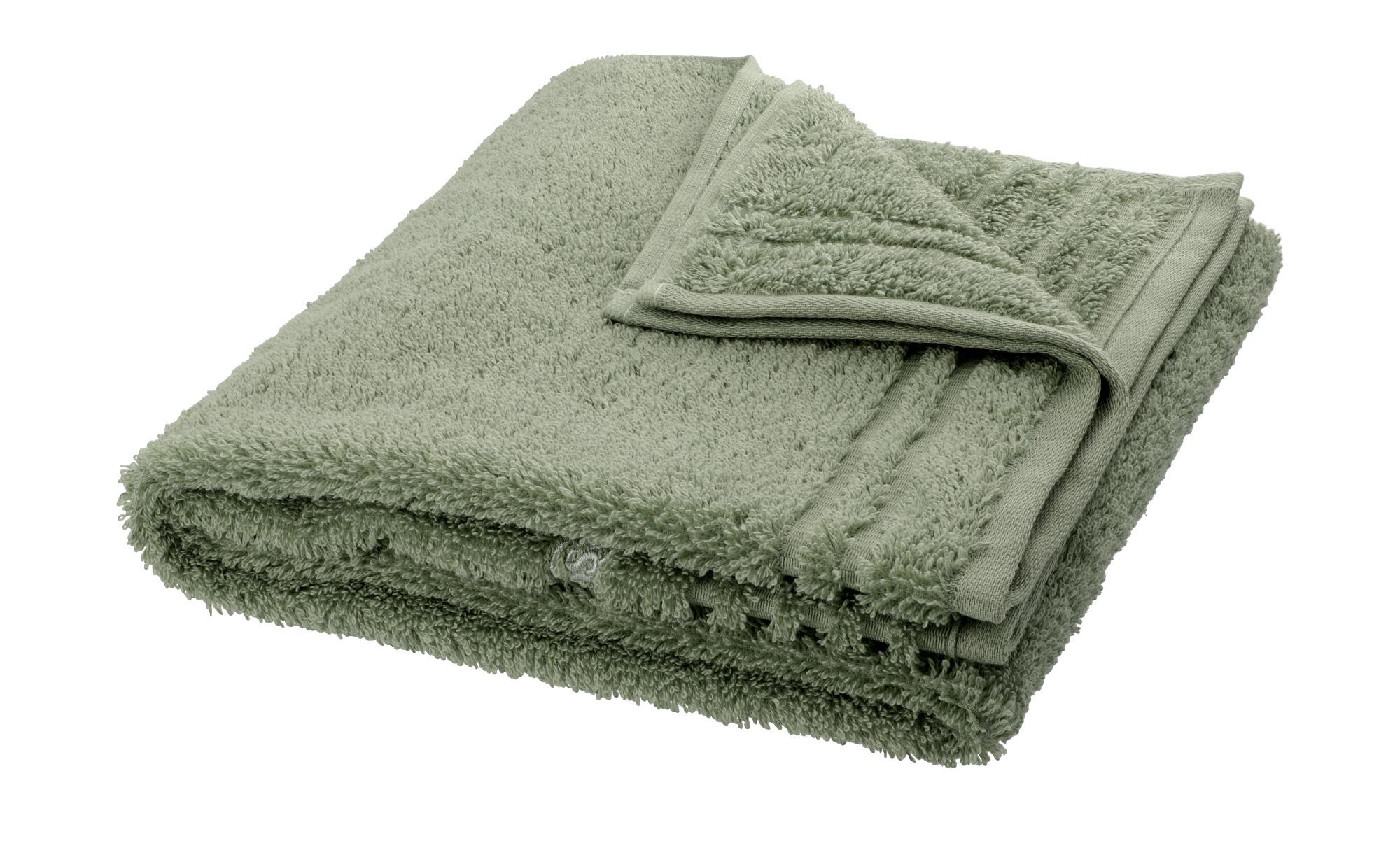 VOSSEN Handtuch  Vienna Supersoft ¦ grün ¦ 100% Baumwolle ¦ Maße (cm): B: 50 Badtextilien und Zubehör > Handtücher & Badetücher > Handtücher - Höffner