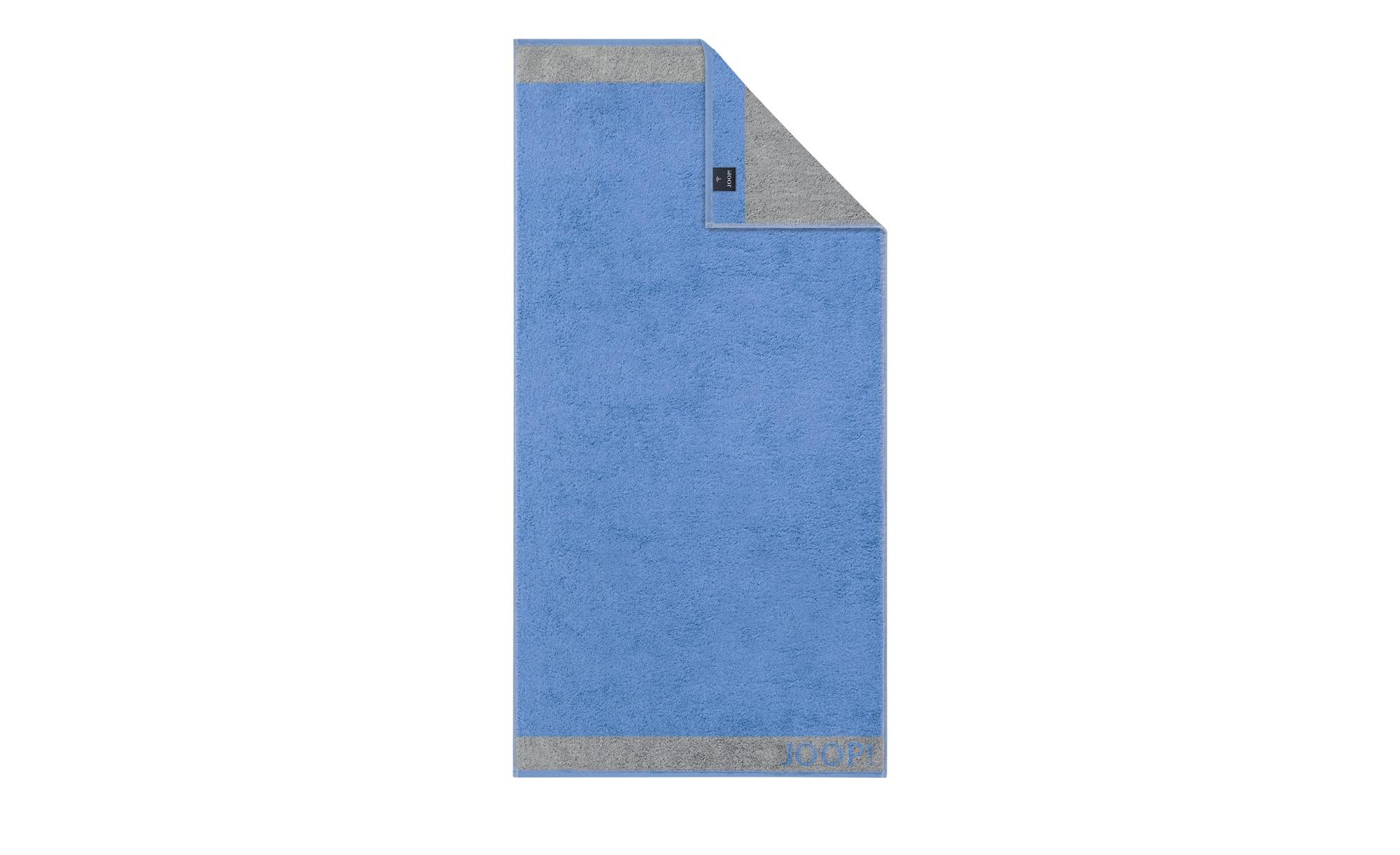 JOOP! Duschtuch  JOOP! 1668 Diamond Doubleface ¦ blau ¦ 100% Baumwolle  ¦ Maße (cm): B: 80 Badtextilien und Zubehör > Handtücher & Badetücher > Duschtücher - Höffner