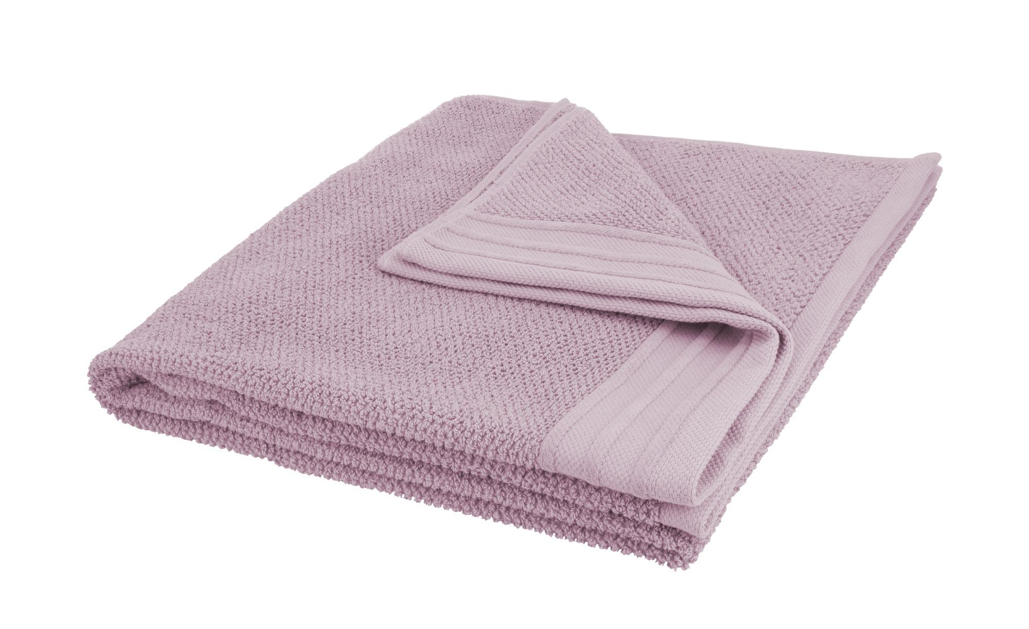 como Duschtuch  Spa ¦ rosa/pink ¦ reine Baumwolle ¦ Maße (cm): B: 70 Badtextilien und Zubehör > Handtücher & Badetücher > Duschtücher - Höffner
