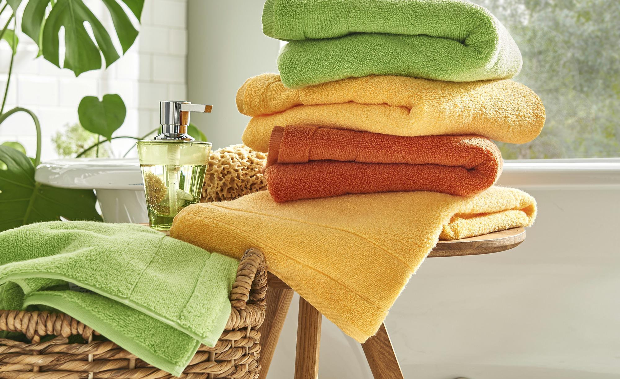 VOSSEN Handtuch  Cloud ¦ gelb ¦ 100% Baumwolle ¦ Maße (cm): B: 50 Badtextilien und Zubehör > Handtücher & Badetücher > Handtücher - Höffner