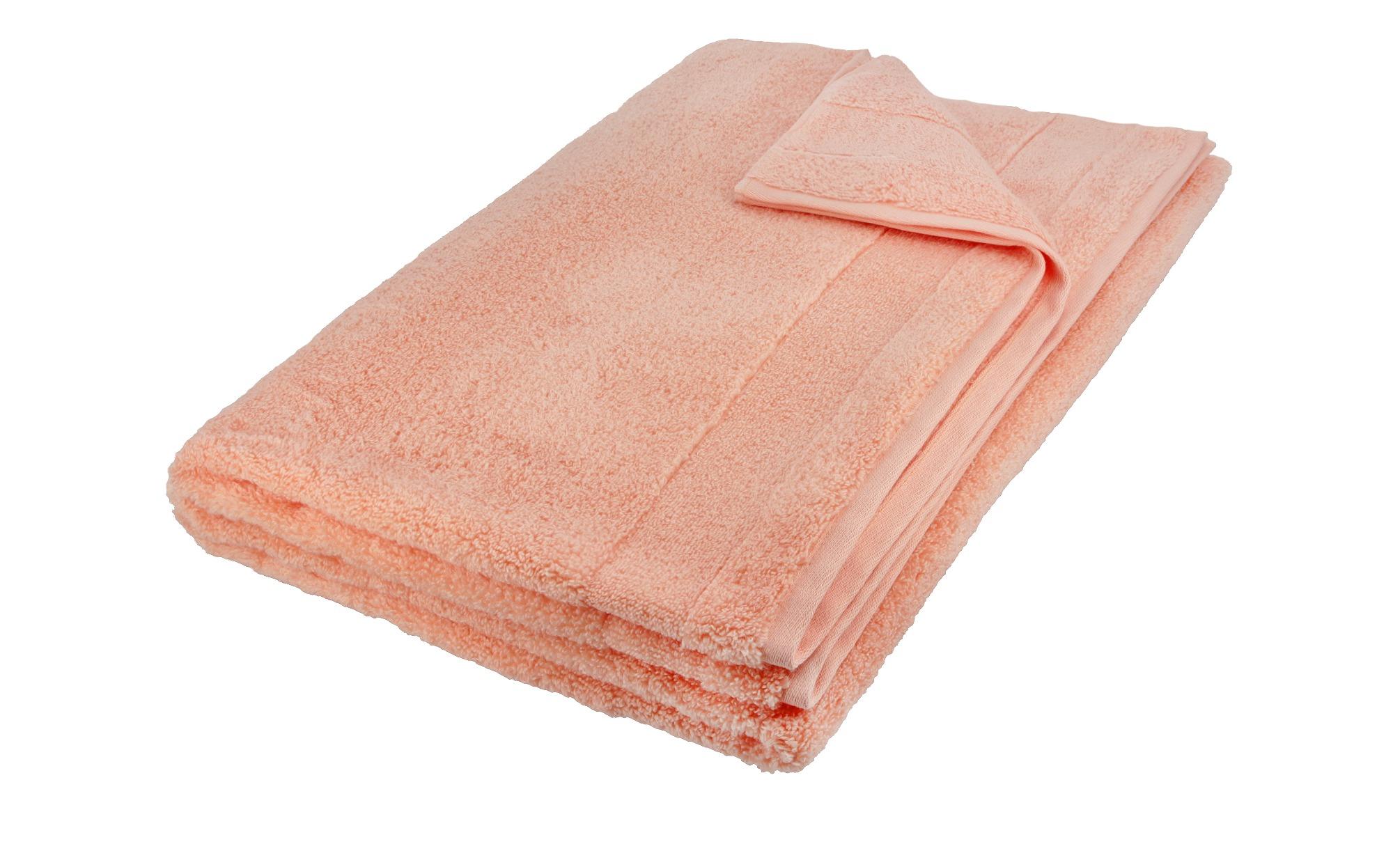 VOSSEN Badetuch  Cloud ¦ orange ¦ 100% Baumwolle ¦ Maße (cm): B: 100 Badtextilien und Zubehör > Handtuch-Sets - Höffner