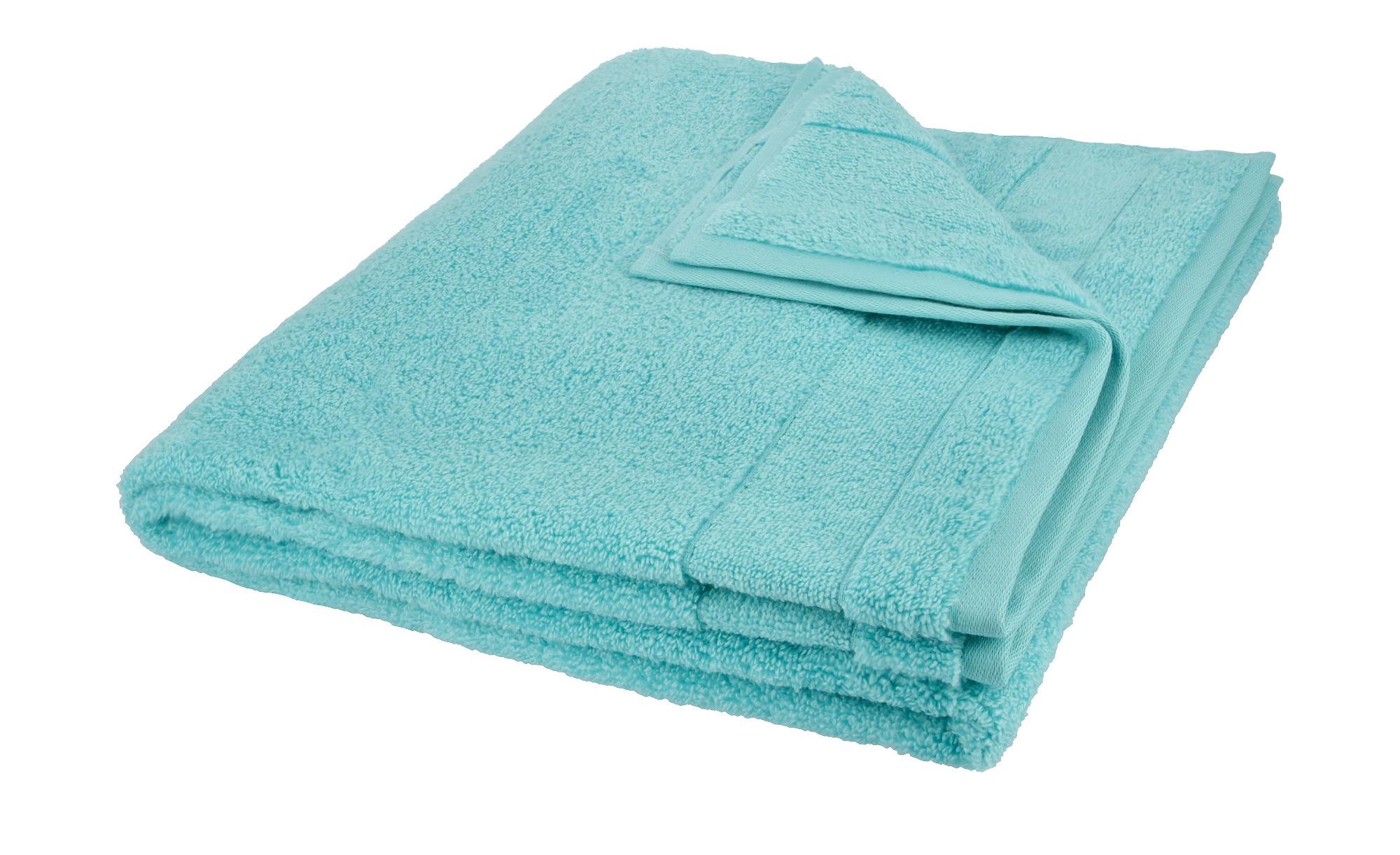 VOSSEN Duschtuch  Cloud ¦ türkis/petrol ¦ 100% Baumwolle Badtextilien und Zubehör > Handtücher & Badetücher > Handtücher - Höffner