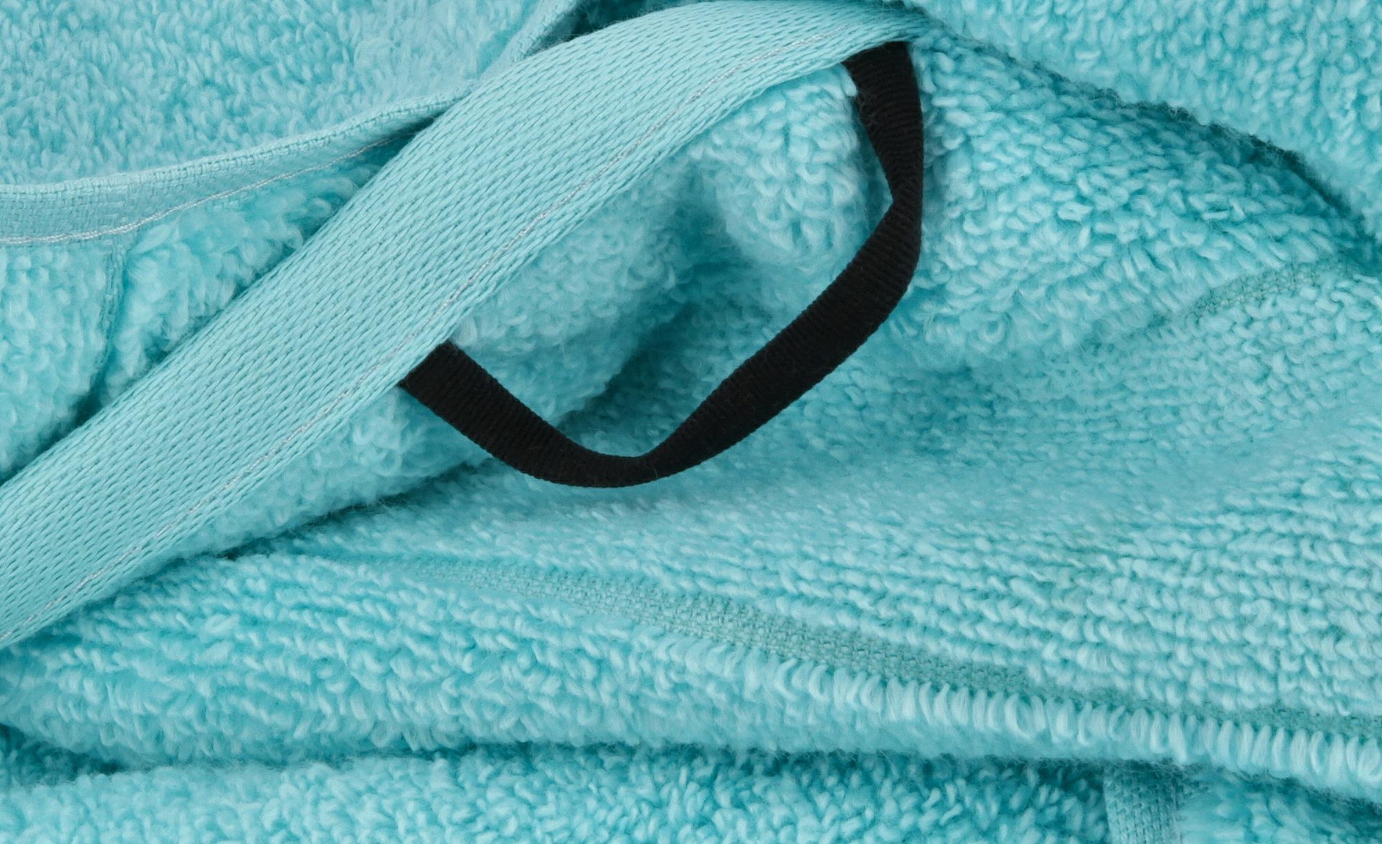 #VOSSEN Badetuch  Cloud ¦ türkis/petrol ¦ 100% Baumwolle ¦ Maße (cm): B: 100 Badtextilien und Zubehör > Handtücher & Badetücher > Badetücher & Saunatücher – Höffner#