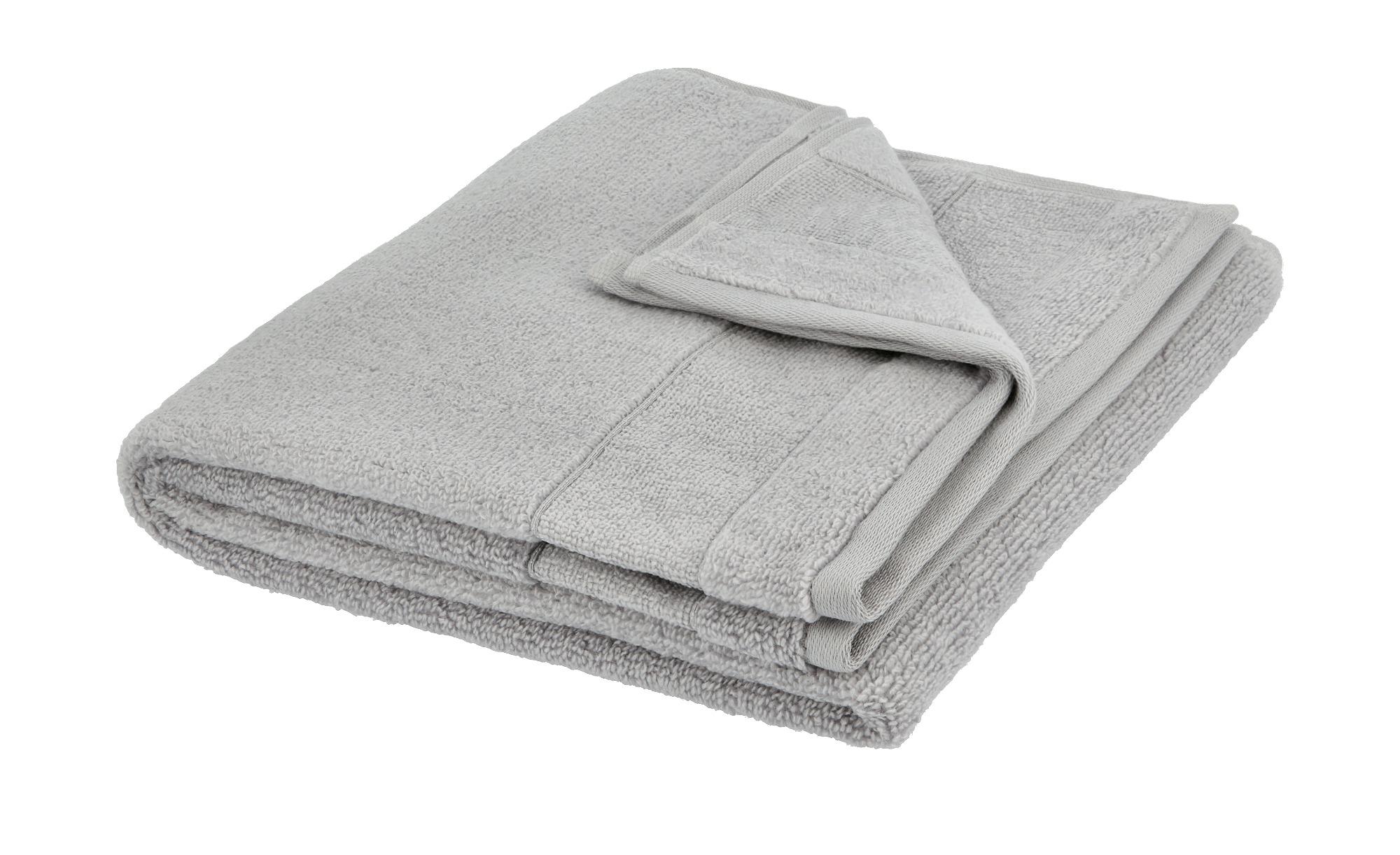 VOSSEN Handtuch  Cloud ¦ grau ¦ 100% Baumwolle ¦ Maße (cm): B: 50 Badtextilien und Zubehör > Handtücher & Badetücher > Handtücher - Höffner