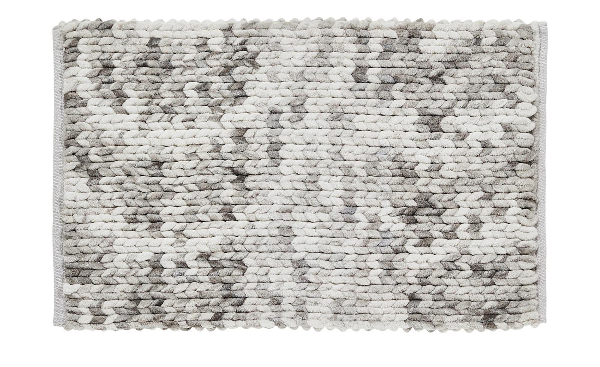 Badteppich  Rapunzel ¦ creme ¦ 100 % Polyester ¦ Maße (cm): B: 50 Badtextilien und Zubehör > Badematten & Badvorleger - Höffner