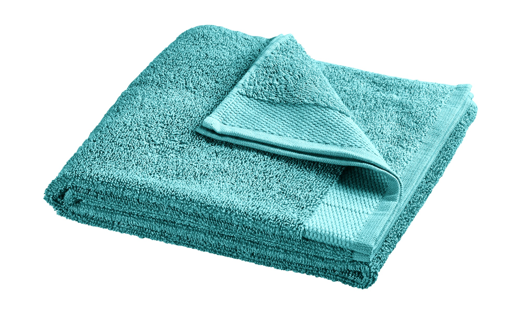 HOME STORY Handtuch  Bubble ¦ türkis/petrol ¦ reine Baumwolle (100% Baumwolle) ¦ Maße (cm): B: 50 Badtextilien und Zubehör > Handtücher & Badetücher > Handtücher - Höffner